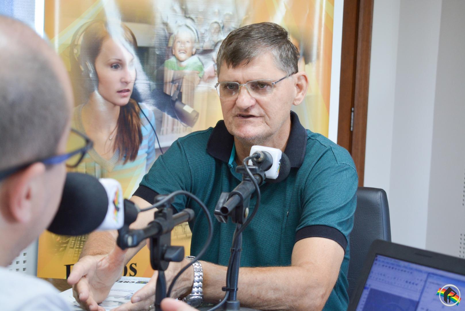 Retrato Falado recebe o Engenheiro Agrônomo João Carlos Biazibetti