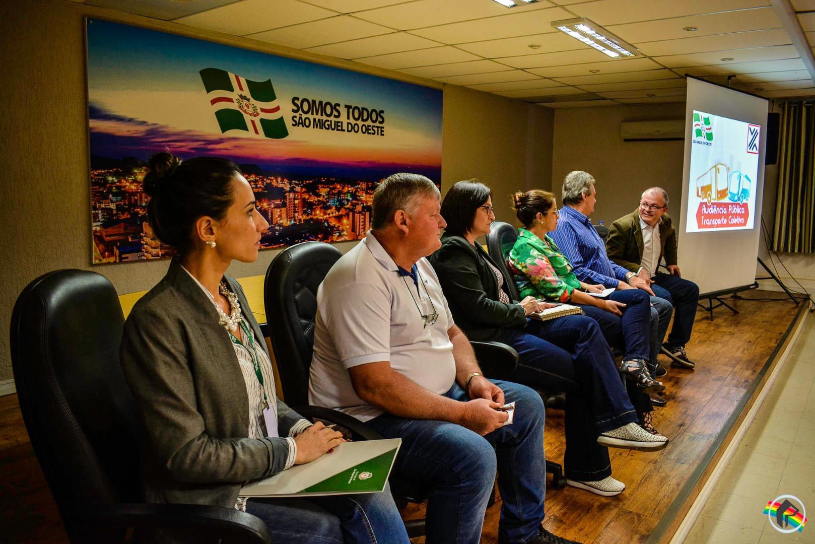 Audiência Pública debate o transporte público urbano