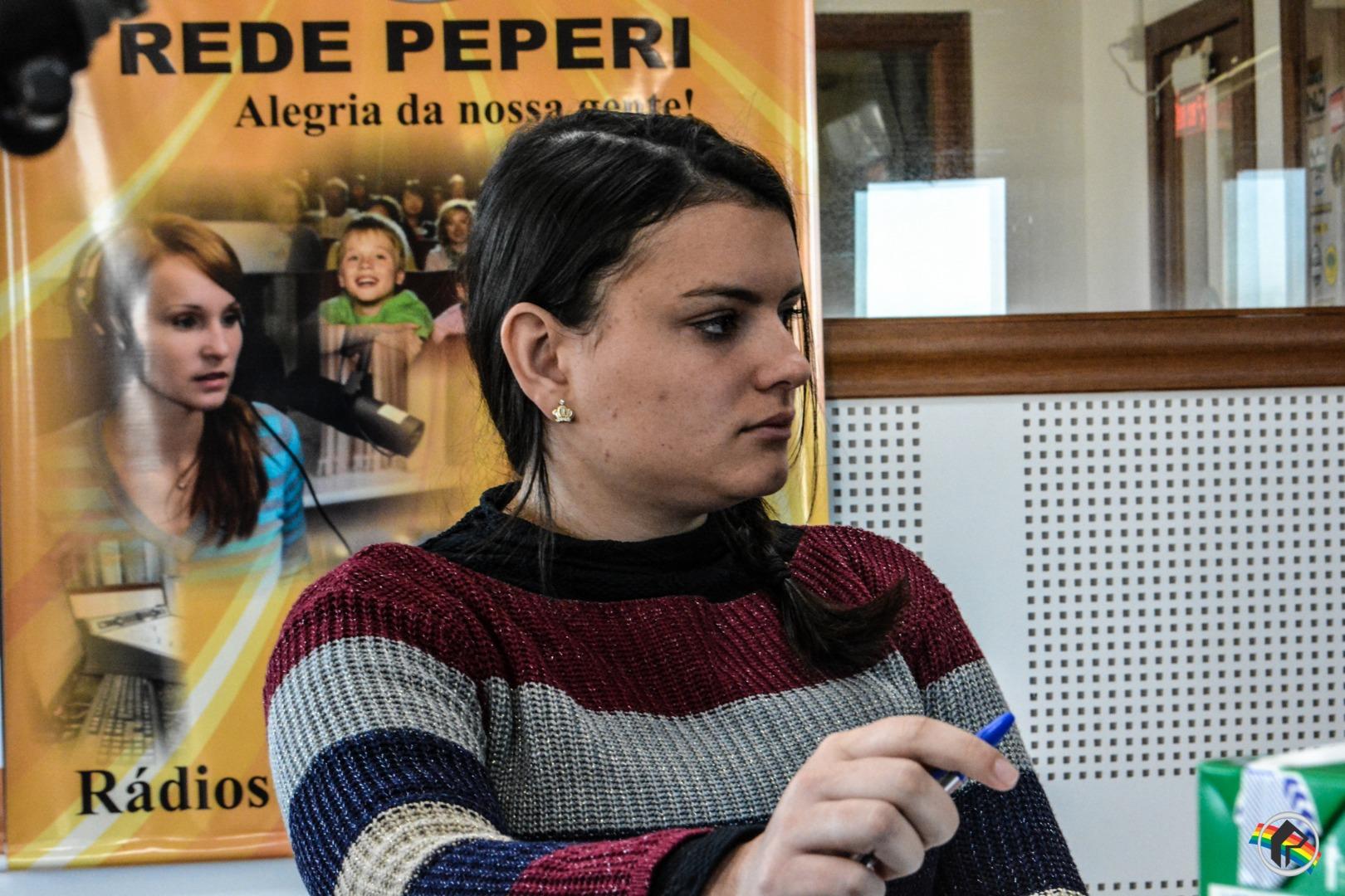 Peperi fala sobre a violência doméstica contra crianças e adolescentes