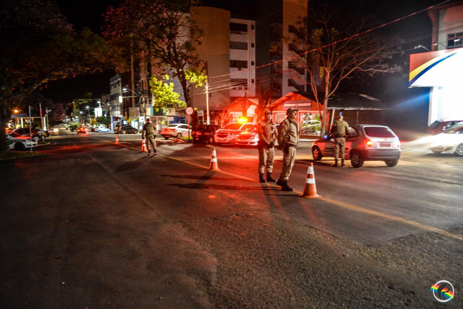 Operação PM4MIL é realizada em São Miguel do Oeste e região