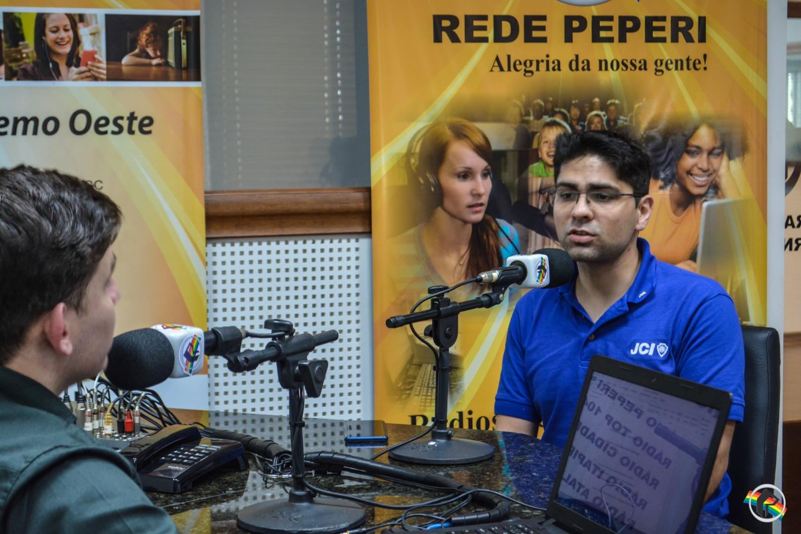 Presidente nacional da JCI visita a Rede Peperi