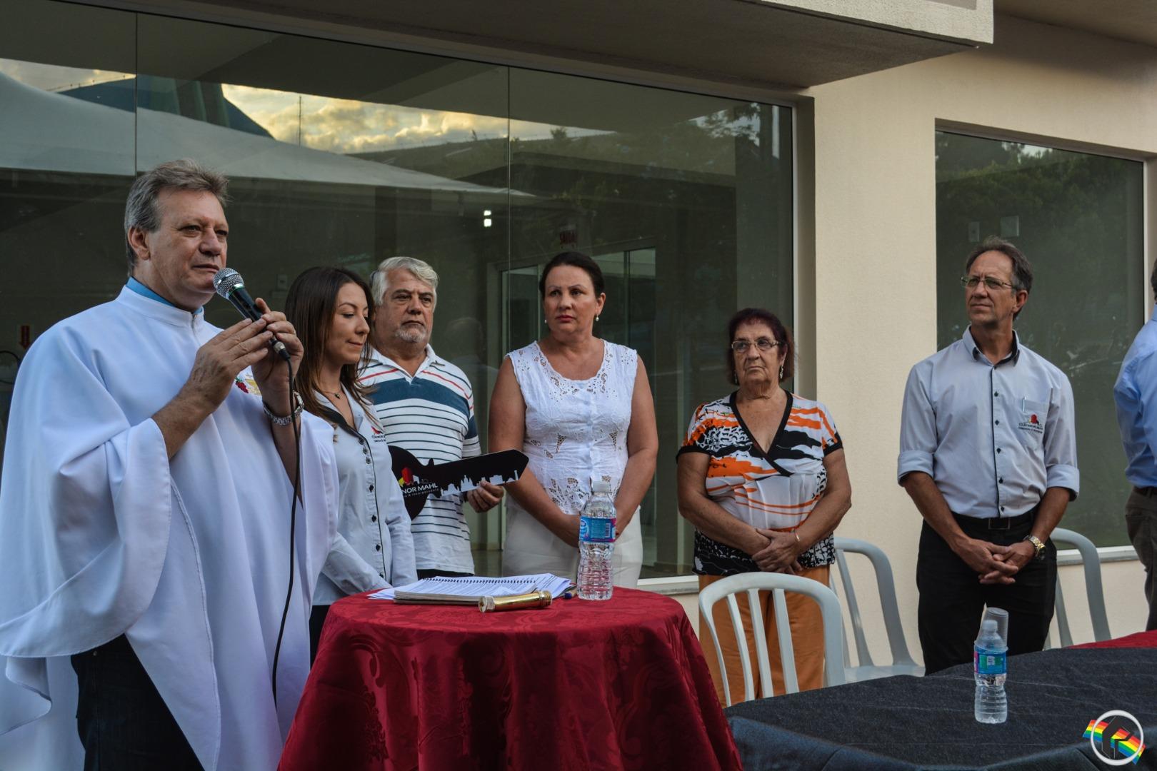 Edifício Professora Ebraima é entregue em São Migue do Oeste