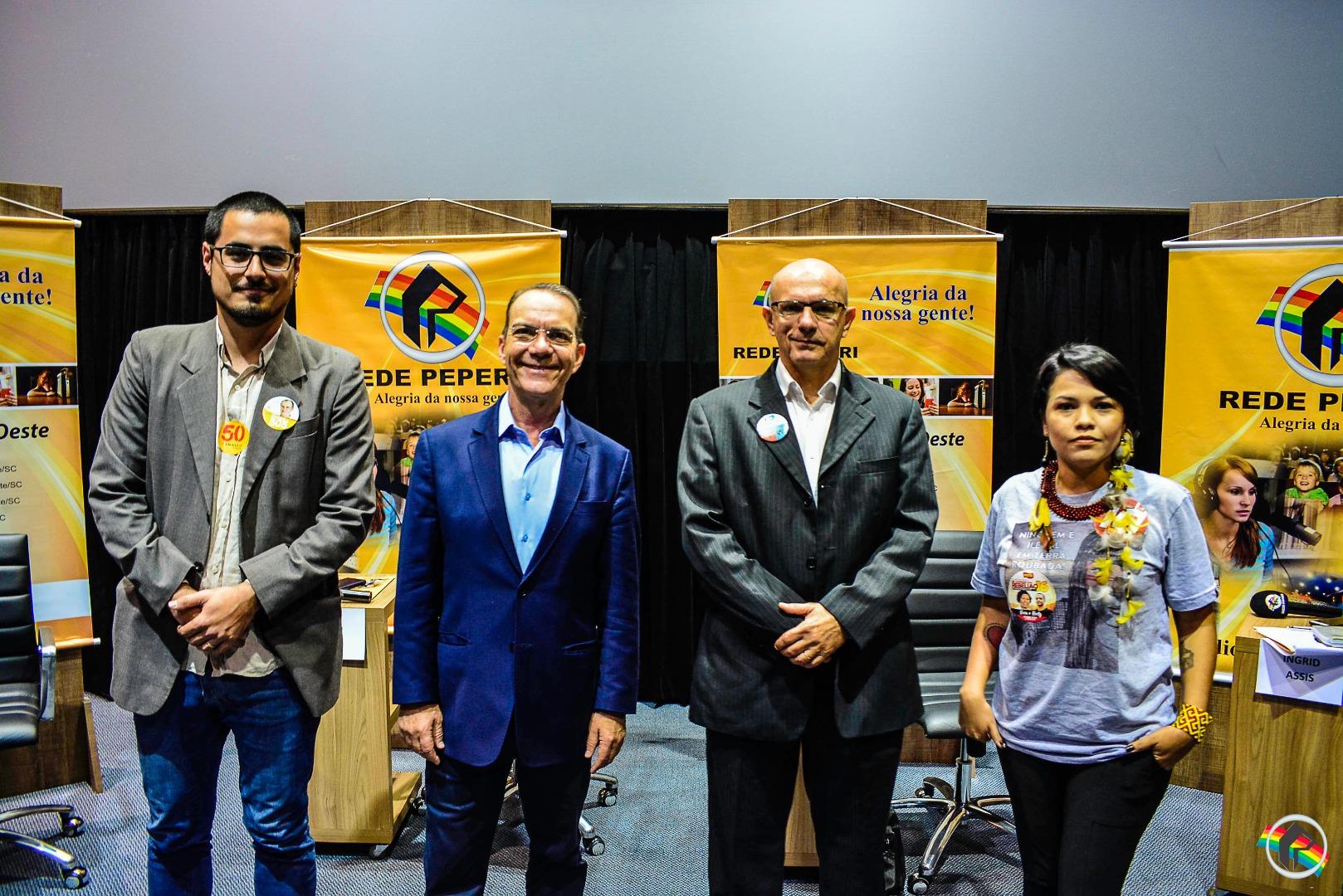 AO VIVO: Quatro candidatos ao governo de SC apresentam propostas na Peperi