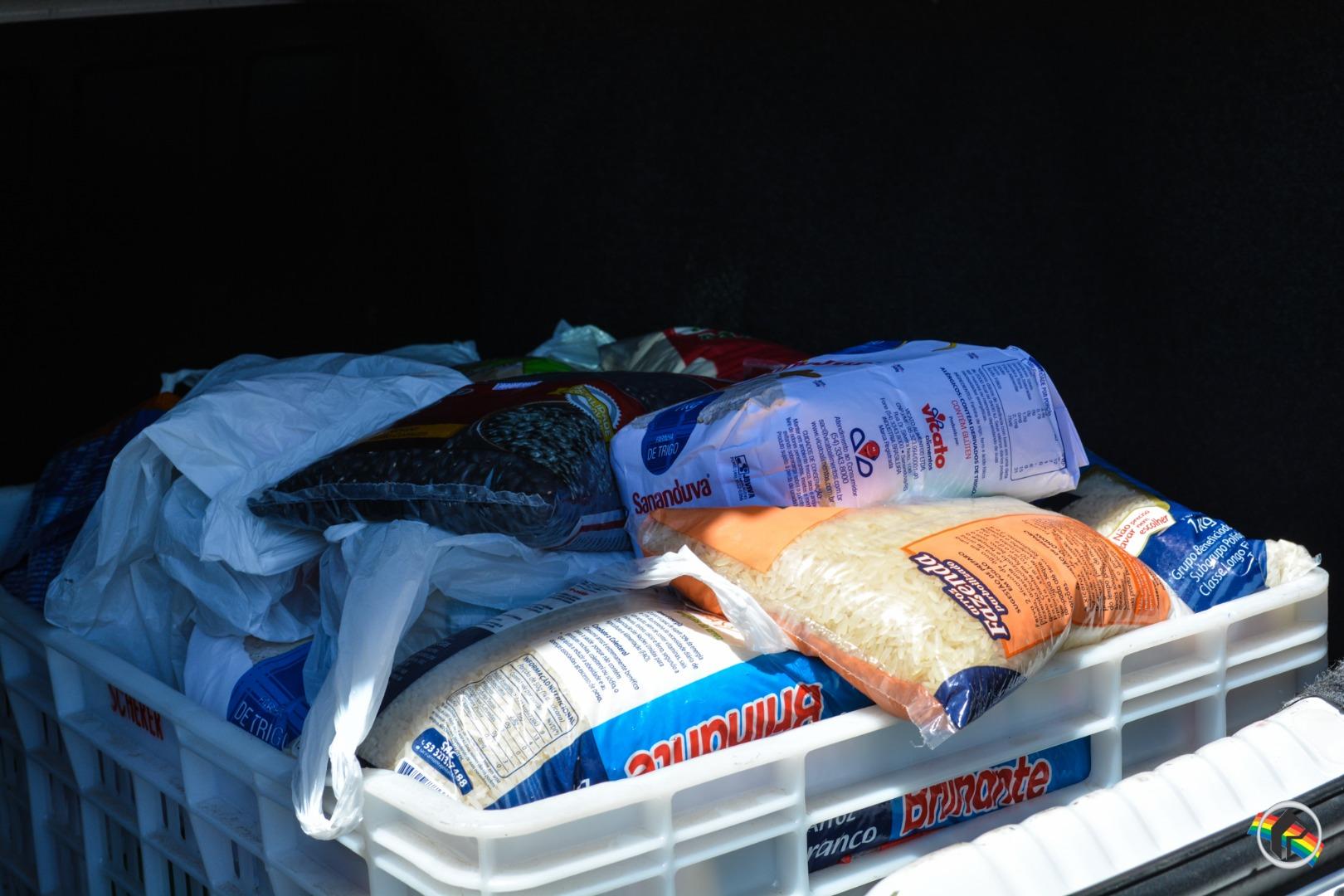 APAS recebe doação de alimentos em São Miguel do Oeste