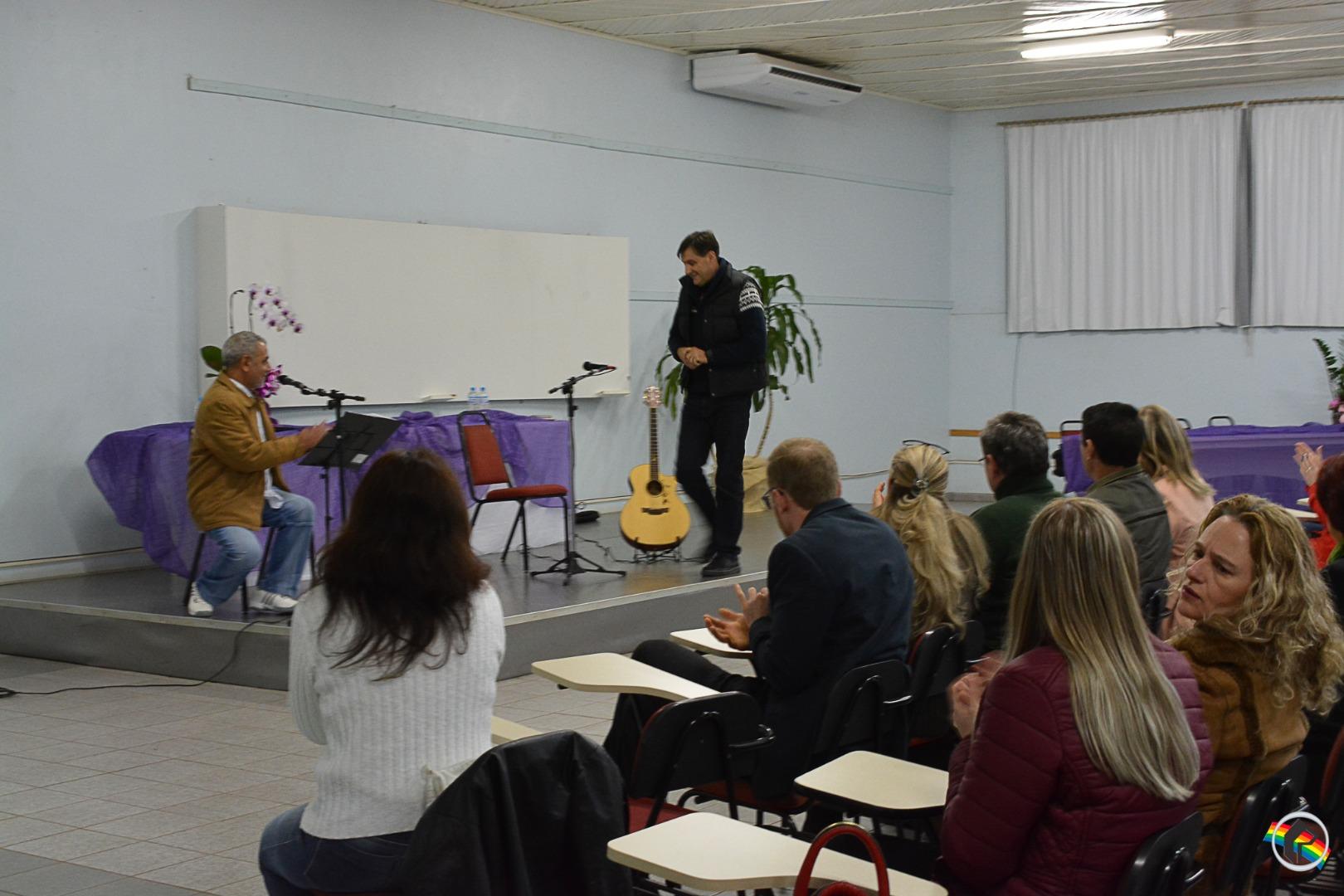 A Jornada da Alma na Travessia Humana é tema de palestra em São Miguel do Oeste