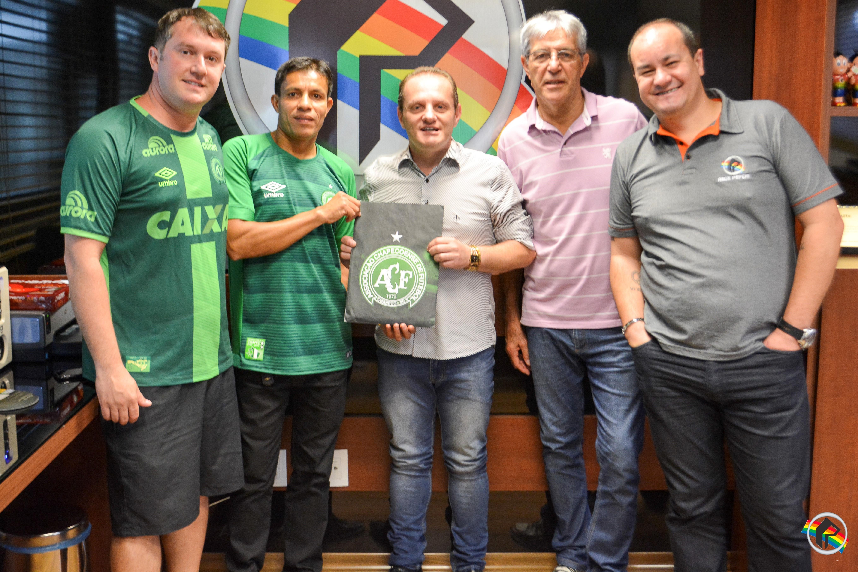 Rede Peperi e Consulado da Chapecoense fecham parceria