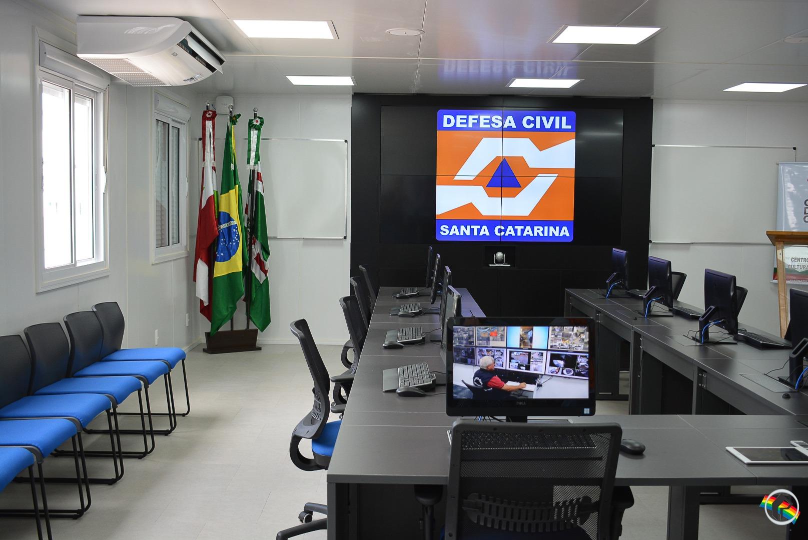 Defesa Civil inaugura centro de gerenciamento de risco