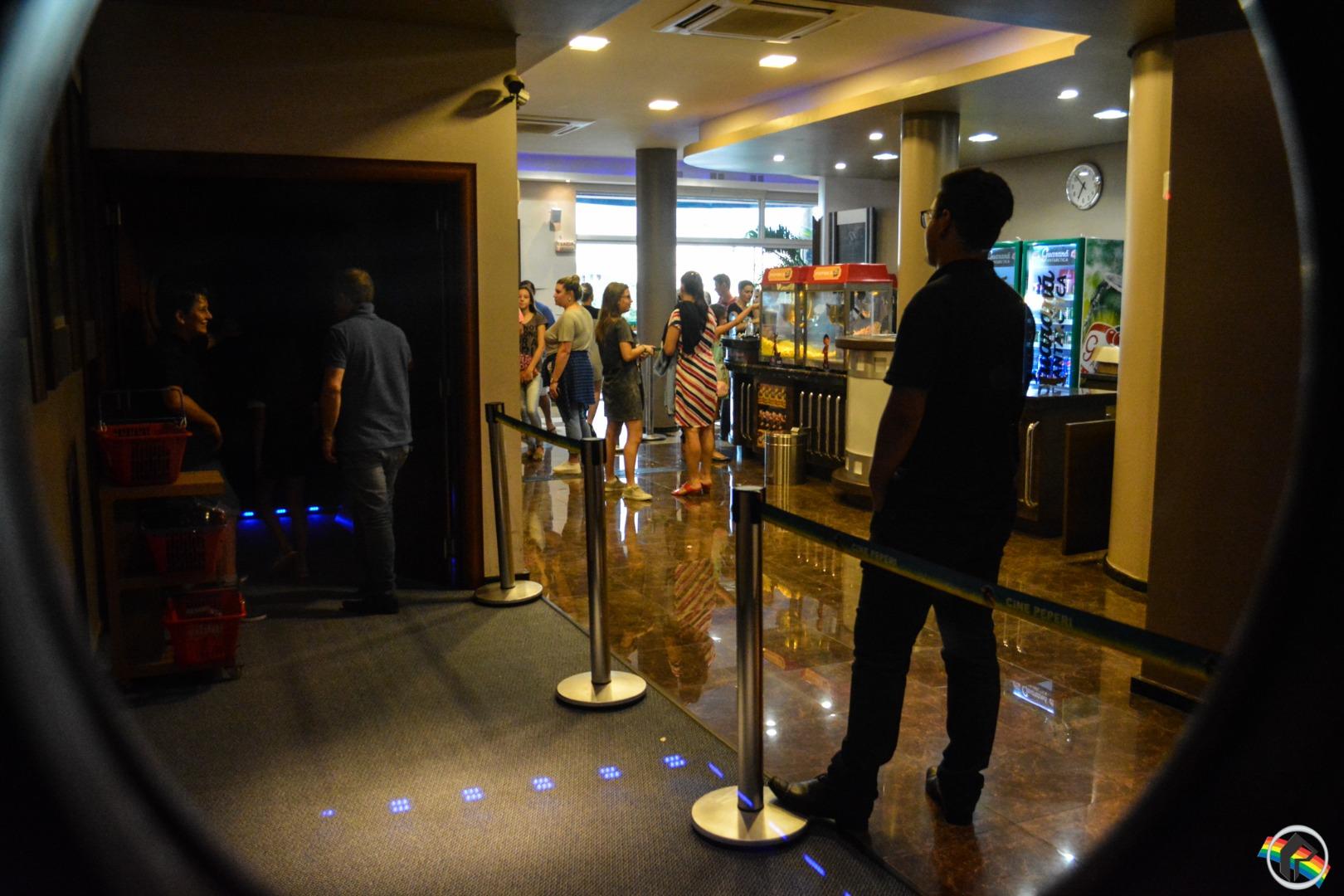 Cine Peperi volta a funcionar normalmente, agora com nova iluminação