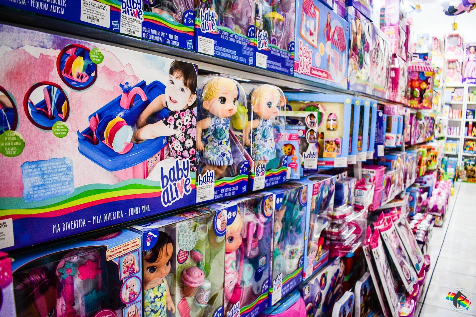 Dia das Crianças movimenta comércio e expectativa é de crescimento nas vendas