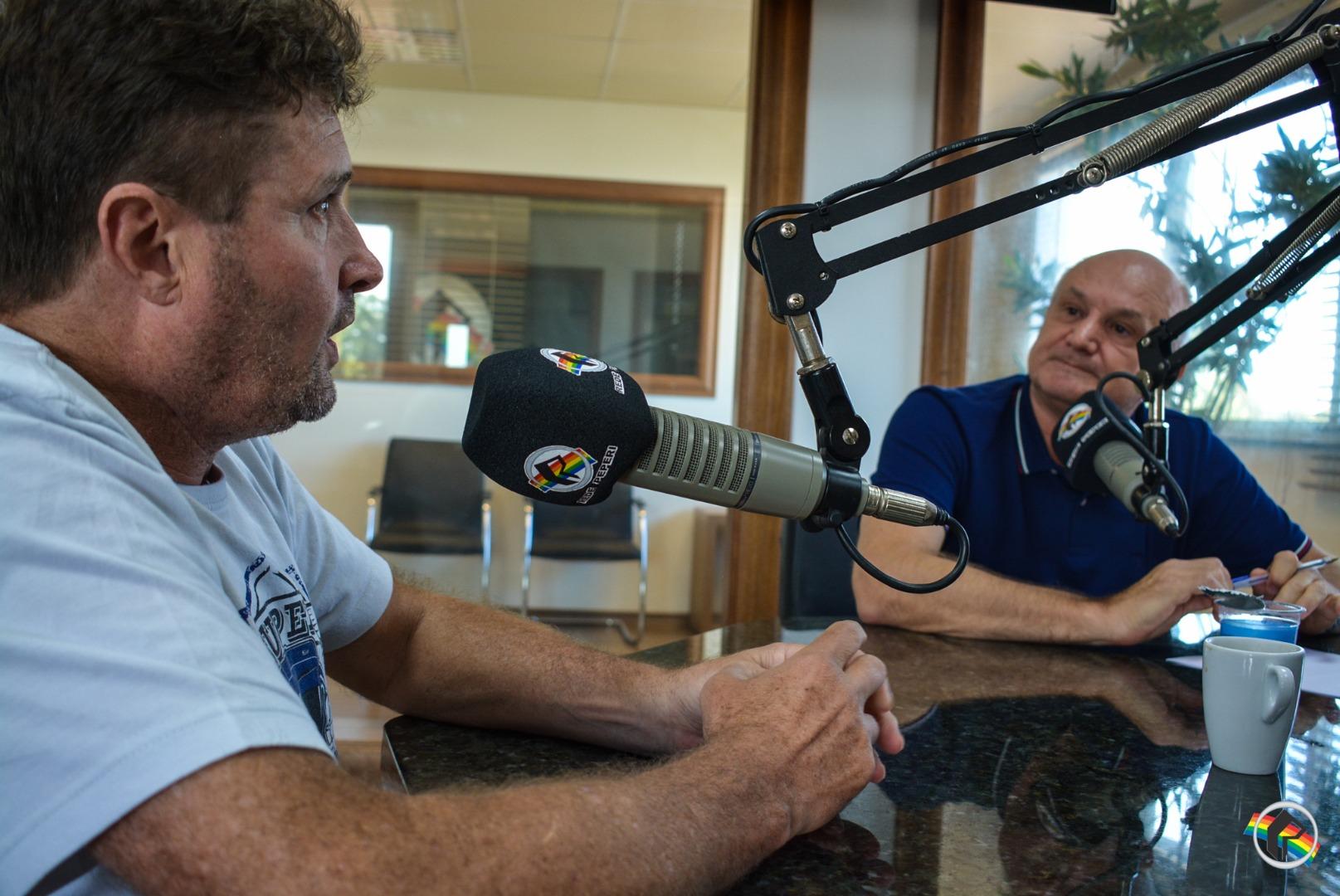 Presidente da ACISMO participa do Peperi Rádio Repórter