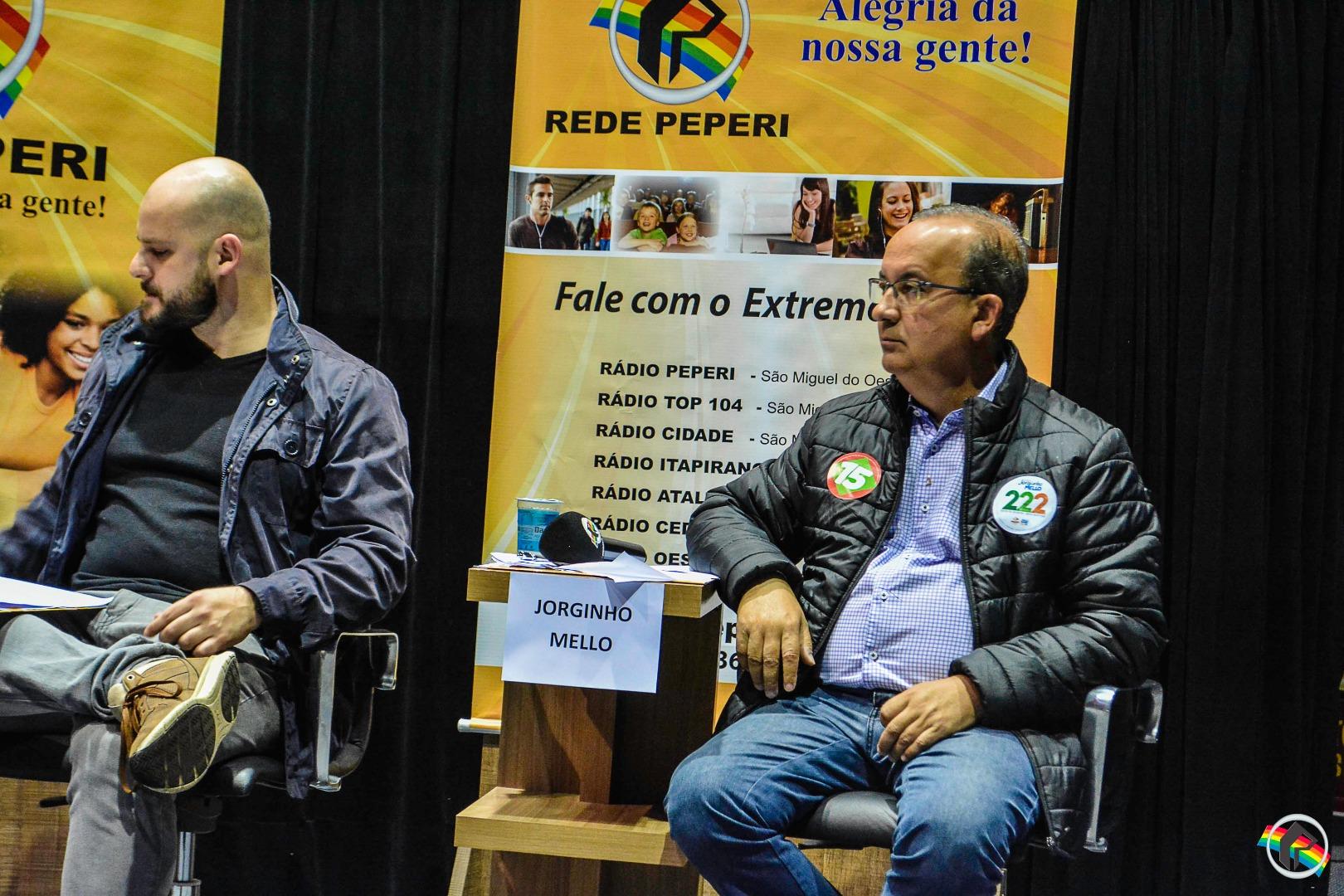 AO VIVO: Cinco candidatos ao senado participam de debate na Peperi
