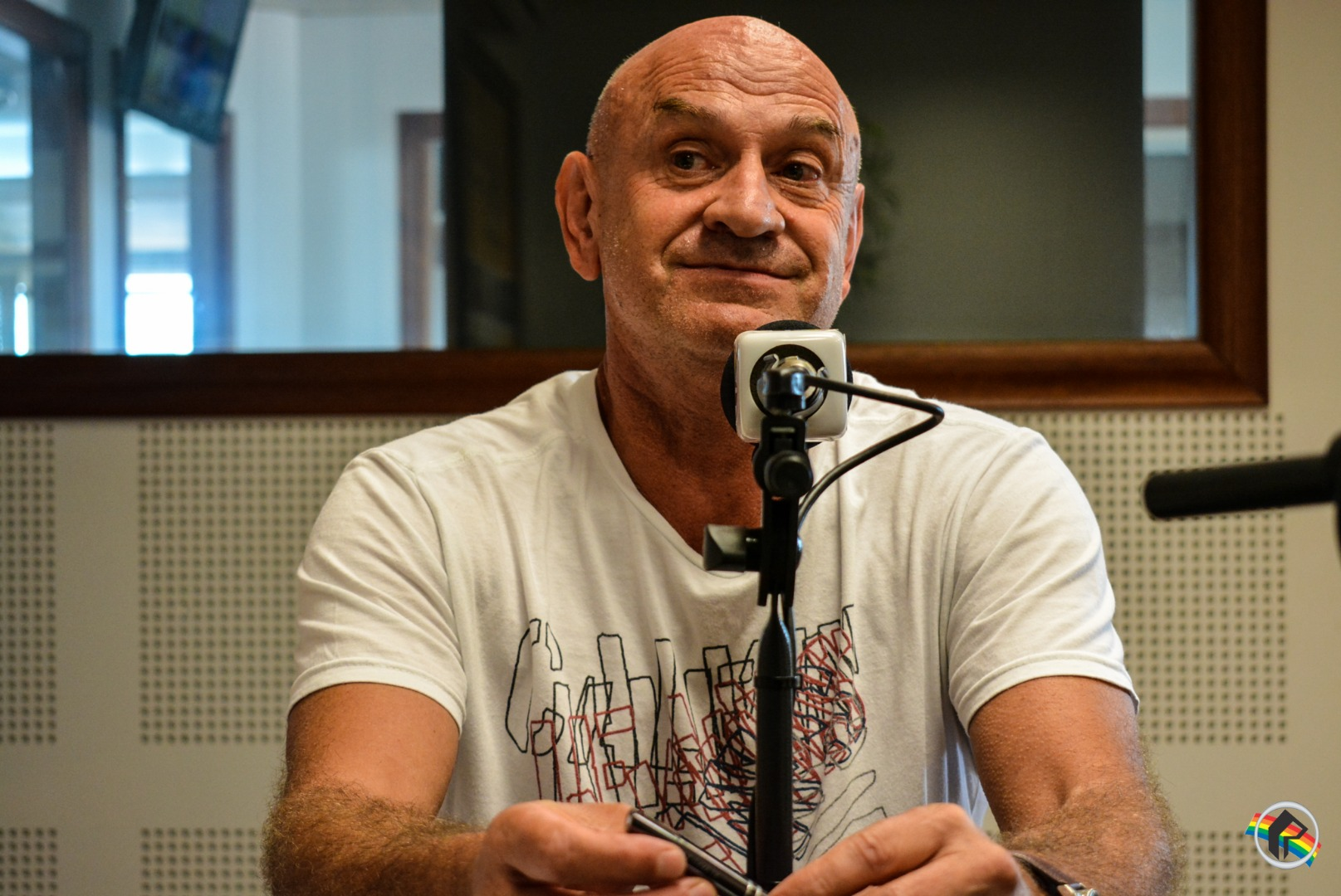 Palestrante Alvaro Loro participa do Retrato Falado