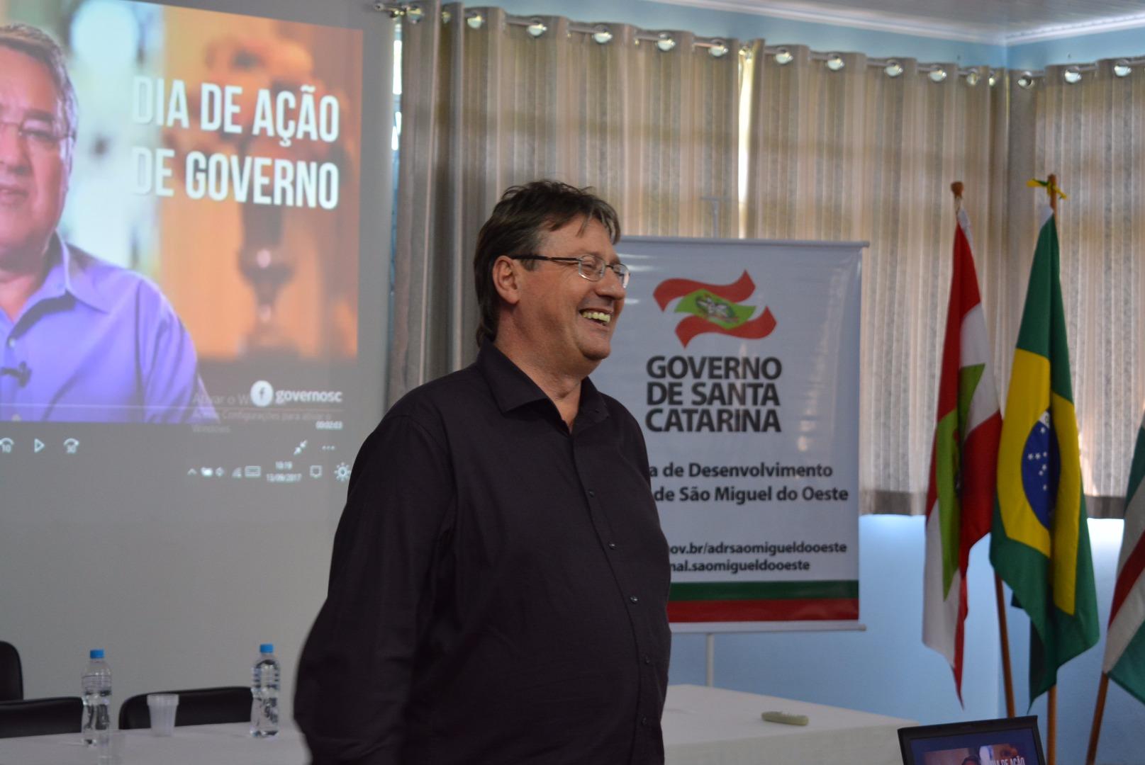 ADR de São Miguel do Oeste realiza dia de ação do governo