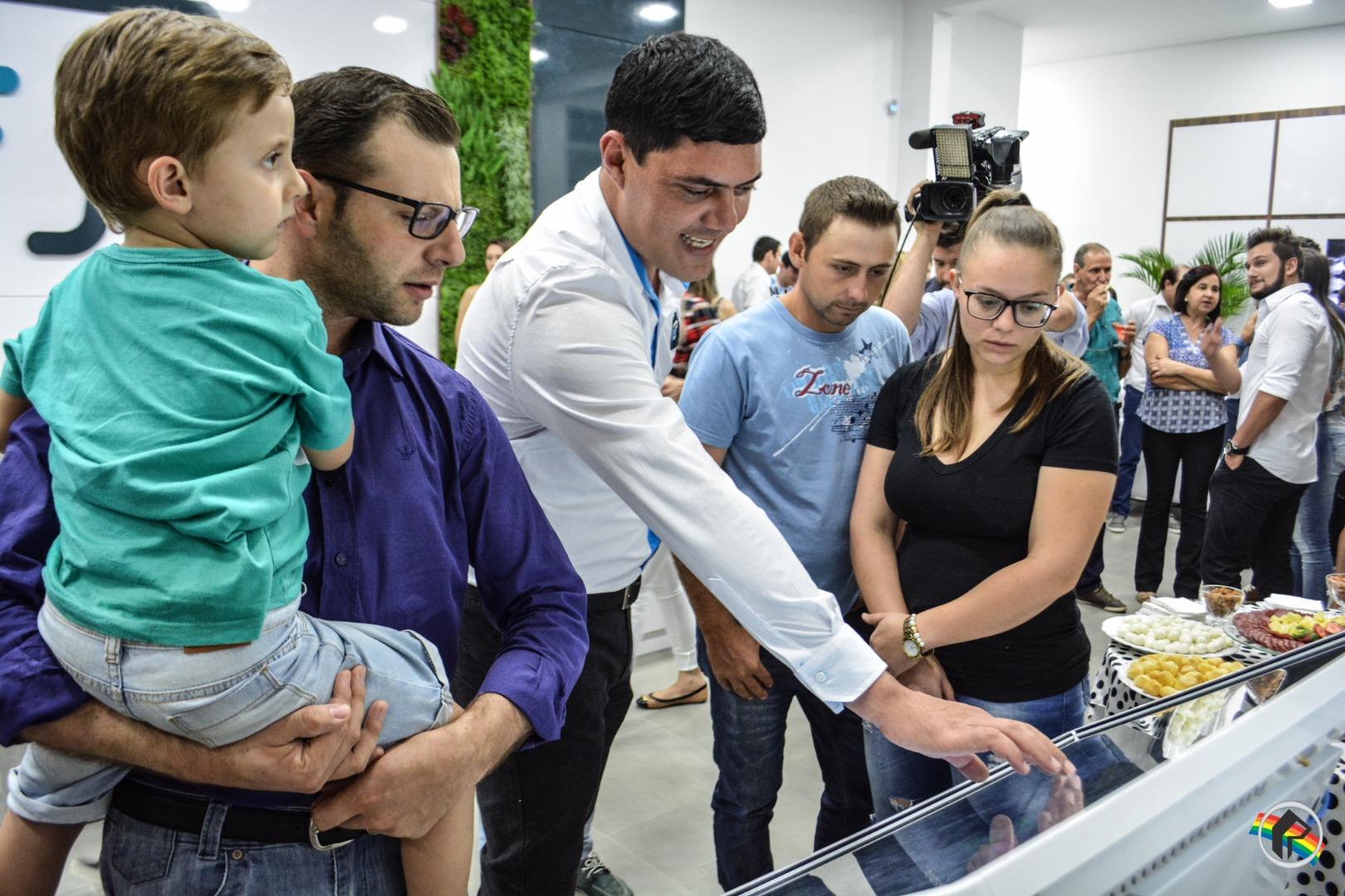 Empresa Techinfo inaugura em São Miguel do Oeste
