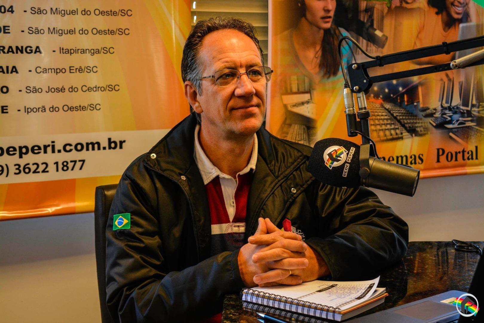 Empresário da construção civil Ivo Jorge Bortolossi participa do Mãos à Obra