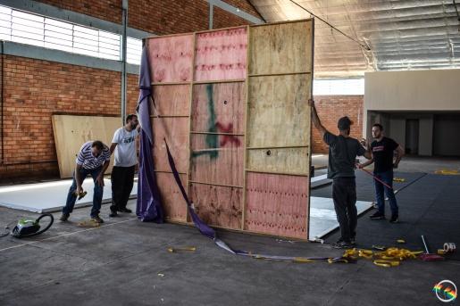 SMO: Começa a instalação de estandes na Faismo 2019