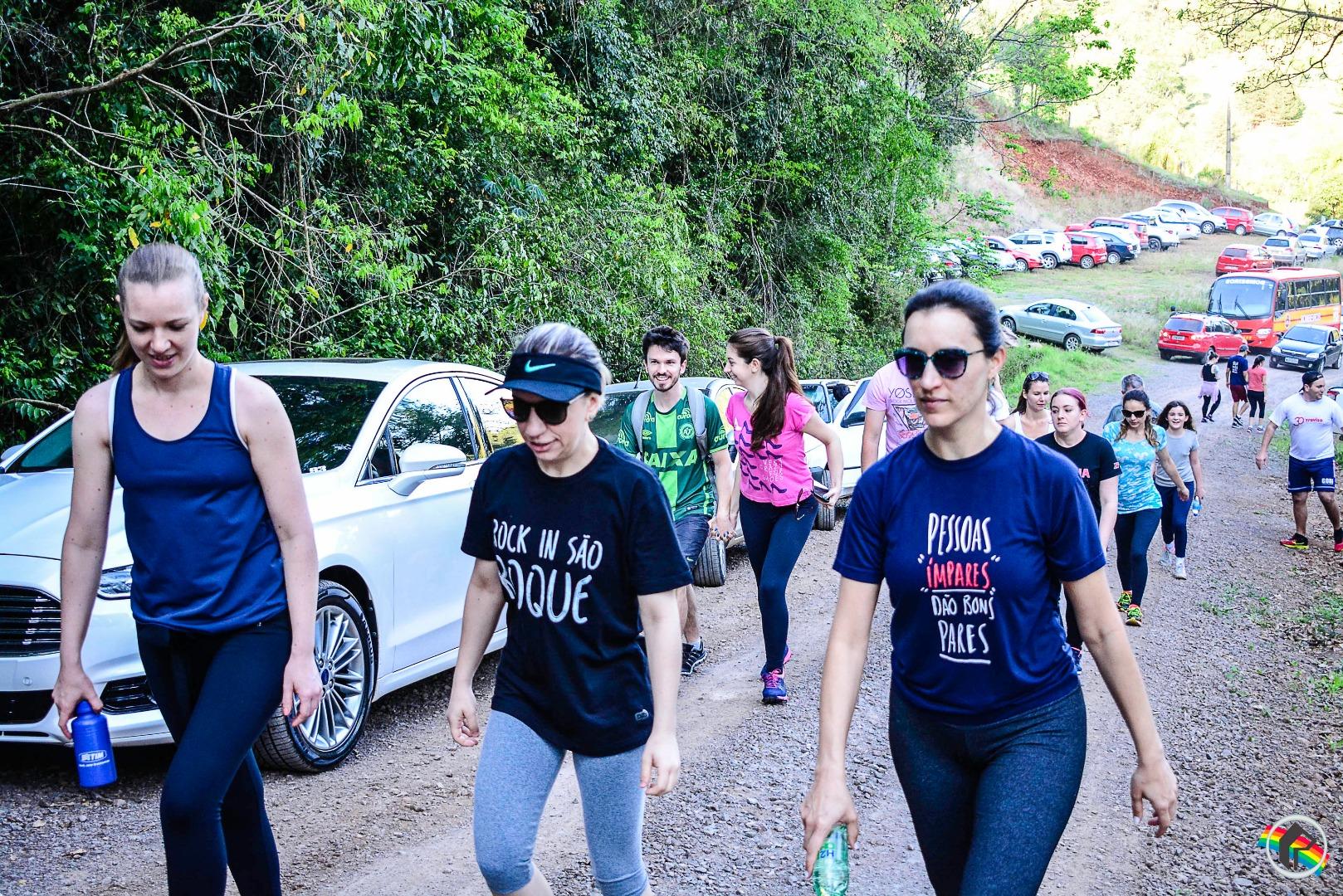 VÍDEO: Mais de 450 pessoas participam da Caminhada da Primavera