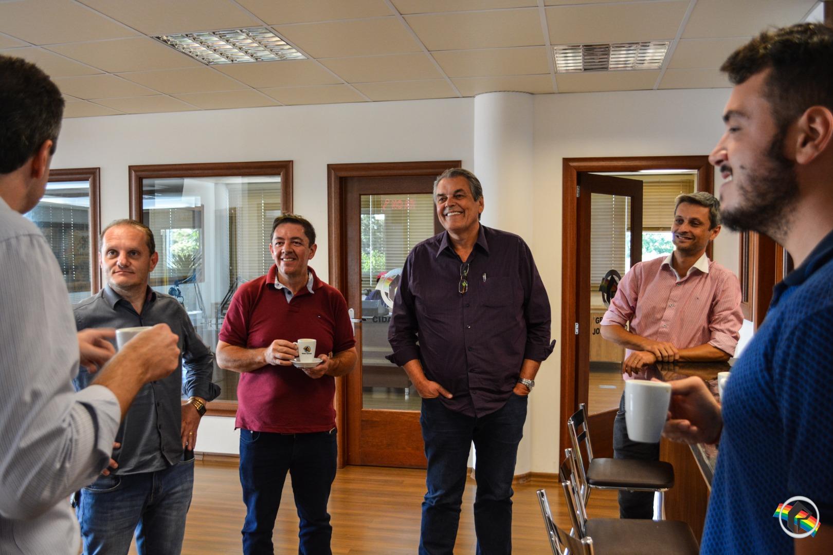 Prefeito de Blumenau visita a Rede Peperi