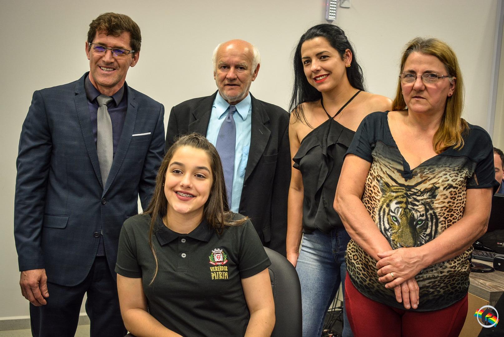 Vereadores Mirins são diplomados em São Miguel do Oeste