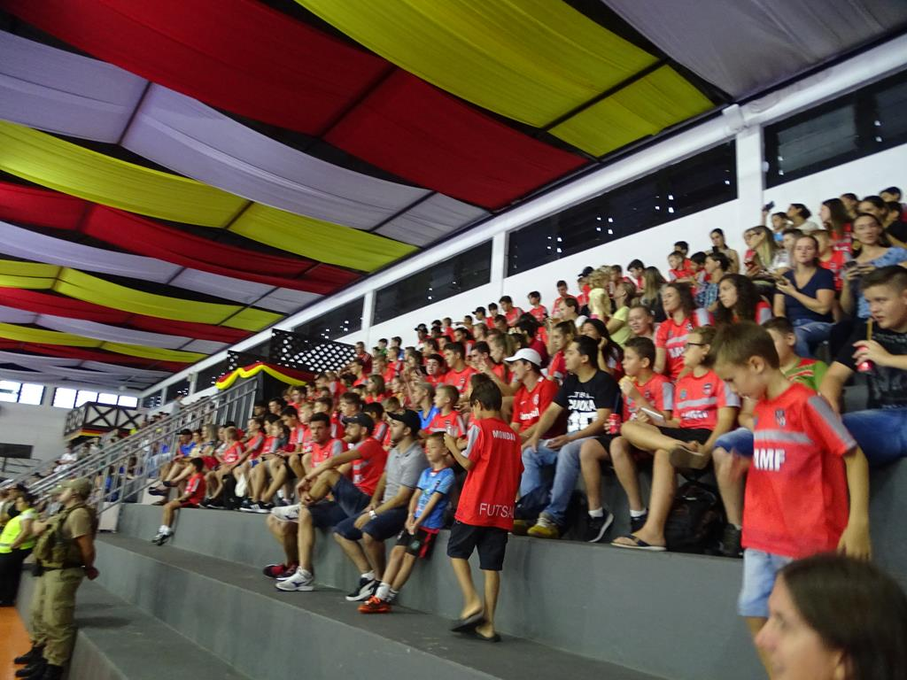 Seleção Brasileira de Futsal empolga o público em Itapiranga