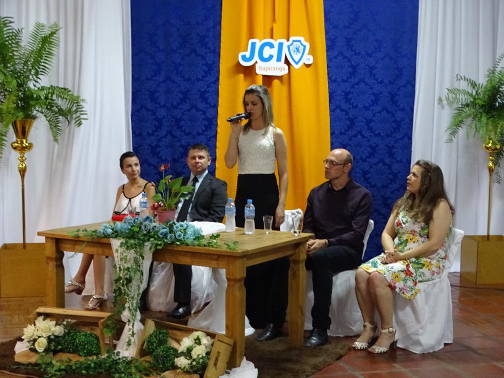 JCI de Itapiranga empossa nova diretoria