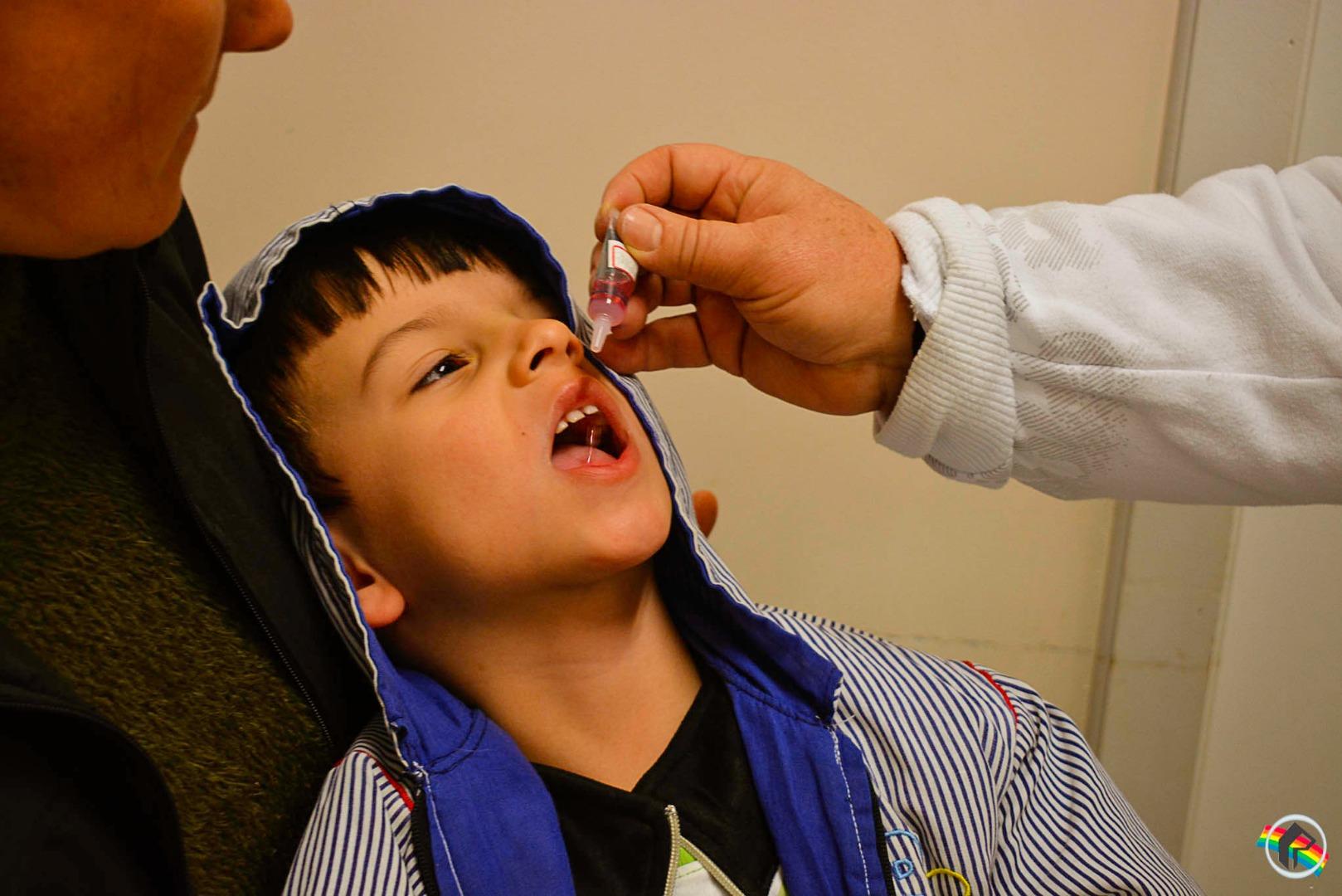 Campanha de vacinação contra sarampo e pólio começa nesta segunda