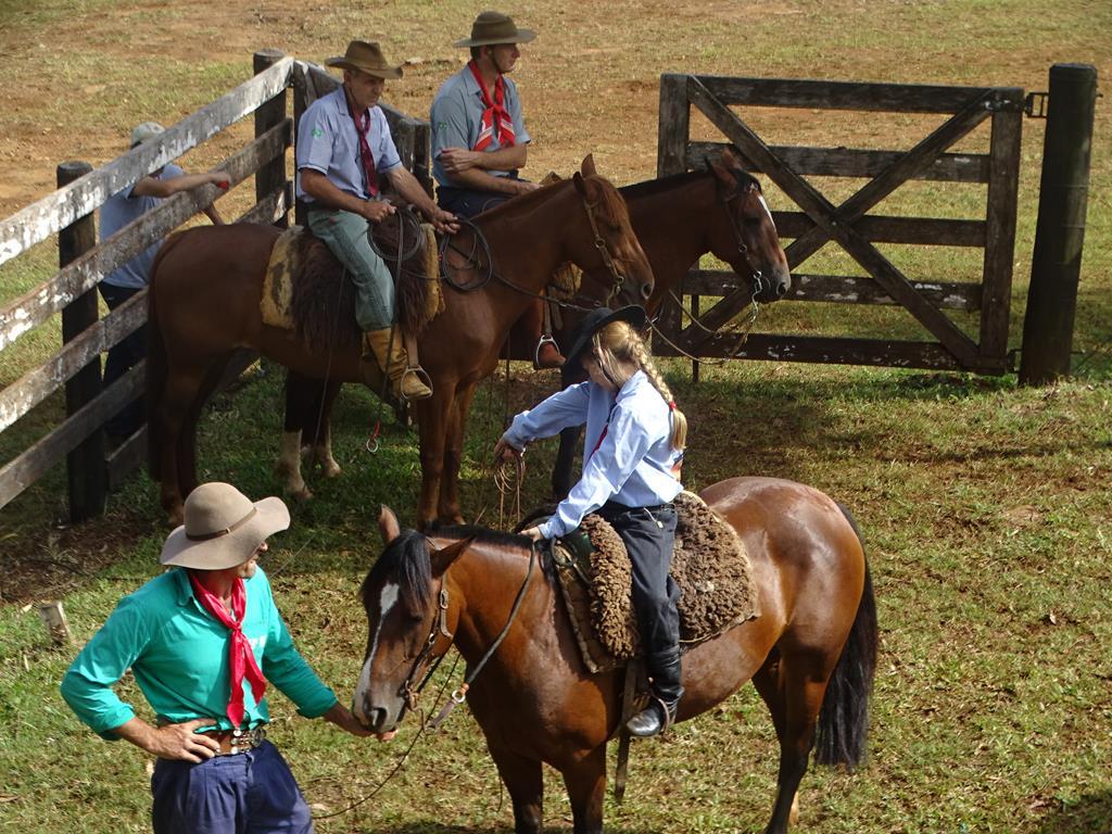 Mais de 30 equipes participam do Rodeio Crioulo em Itapiranga