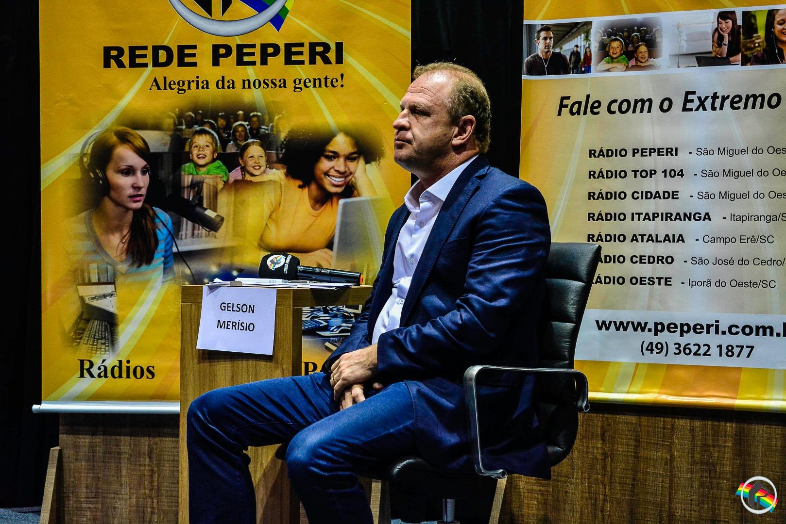 AO VIVO: Merisio e Comandante Moisés debatem na Peperi