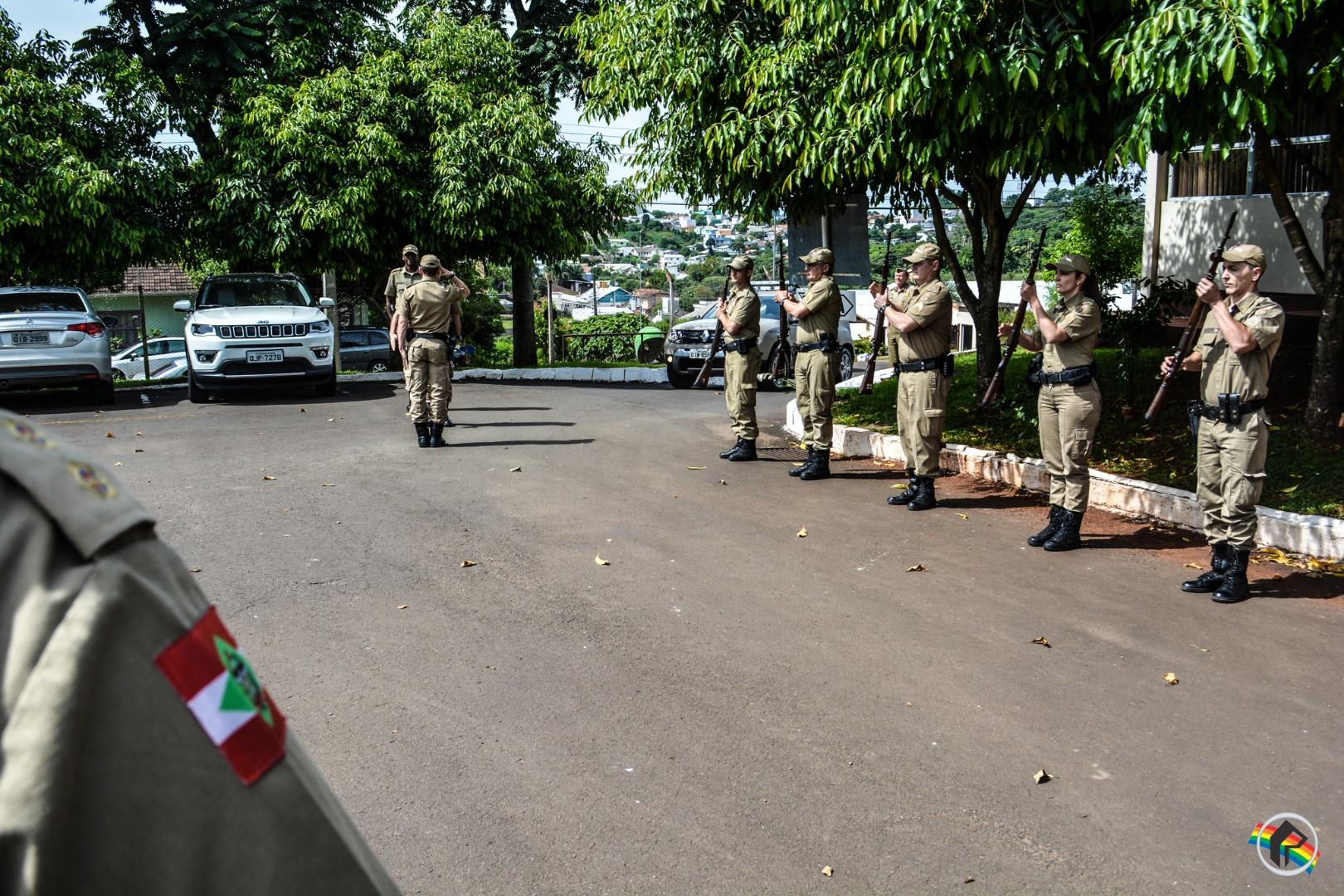 Comandante da PM de Santa Catarina faz reunião com oficiais