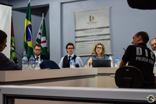 Acusados de matar advogado de Guaraciaba são ouvidos no Fórum