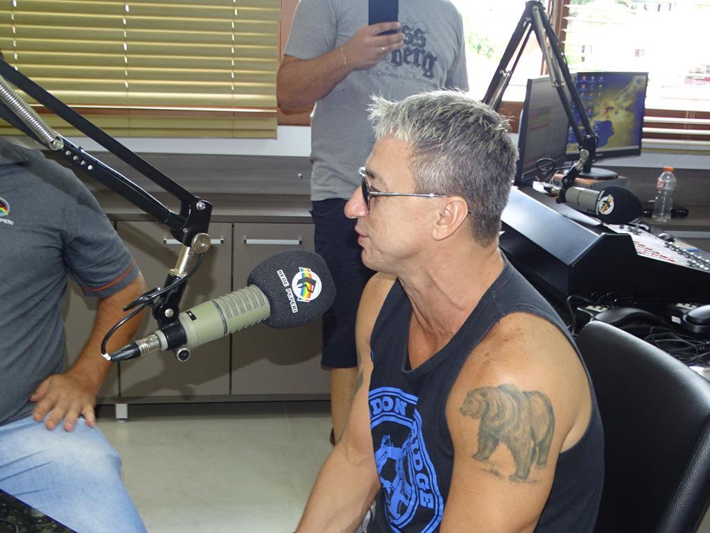 Paulo Nunes e Mauro Galvão participam do Show de Bola na Rádio Itapiranga