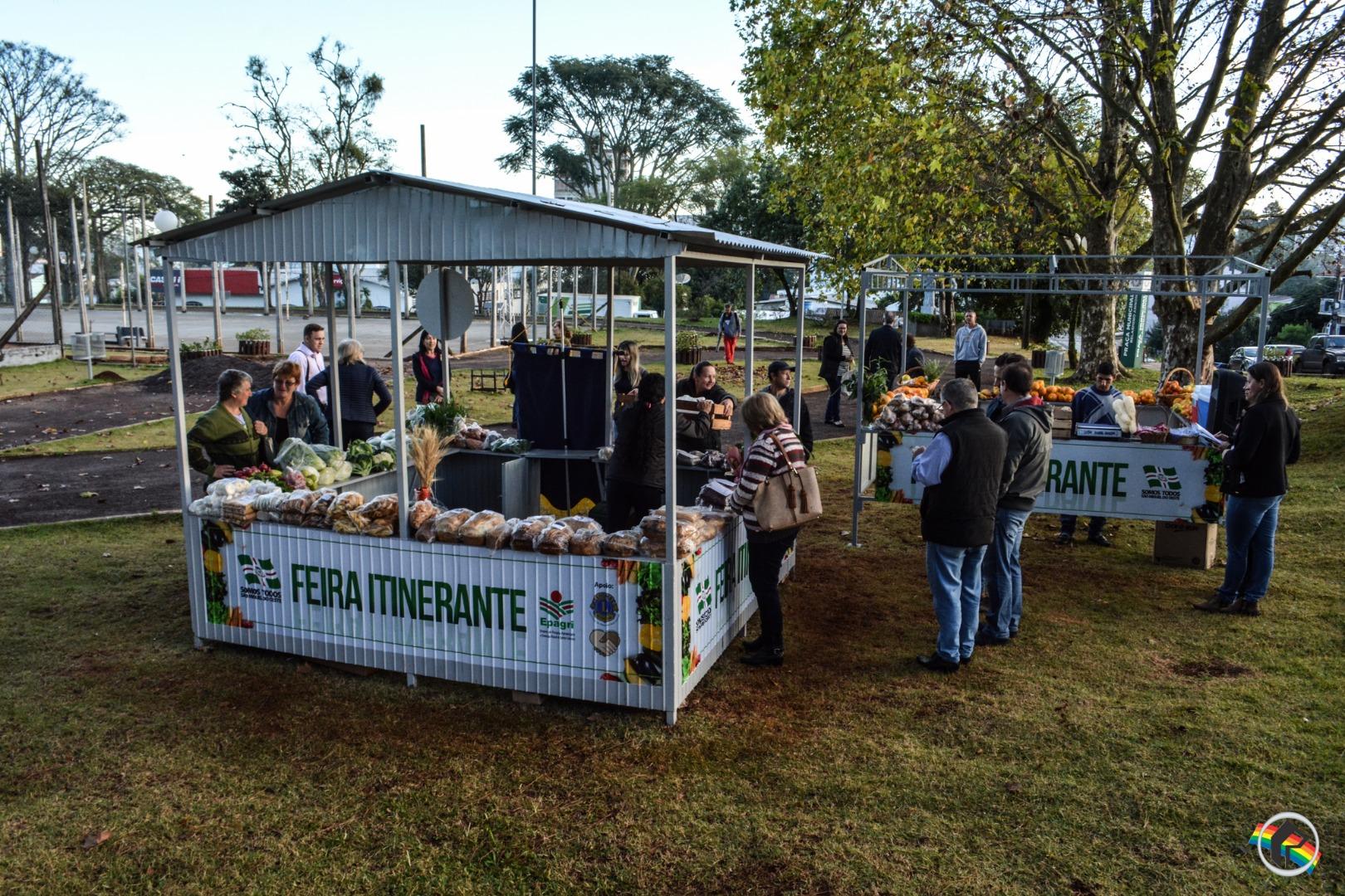Feira Itinerante é lançada em São Miguel do Oeste