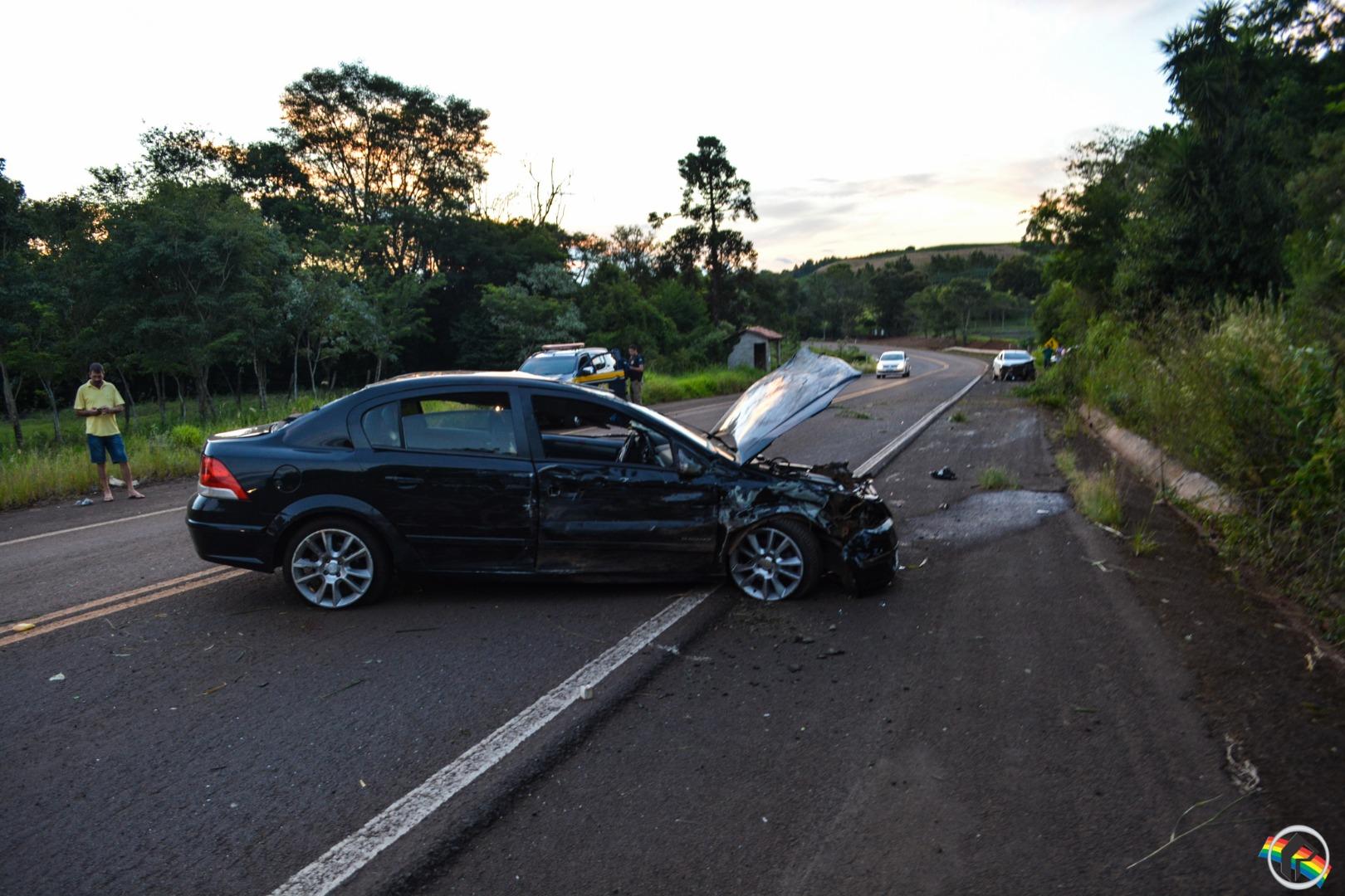 VÍDEO: Acidente deixa quatro pessoas feridas no interior do município