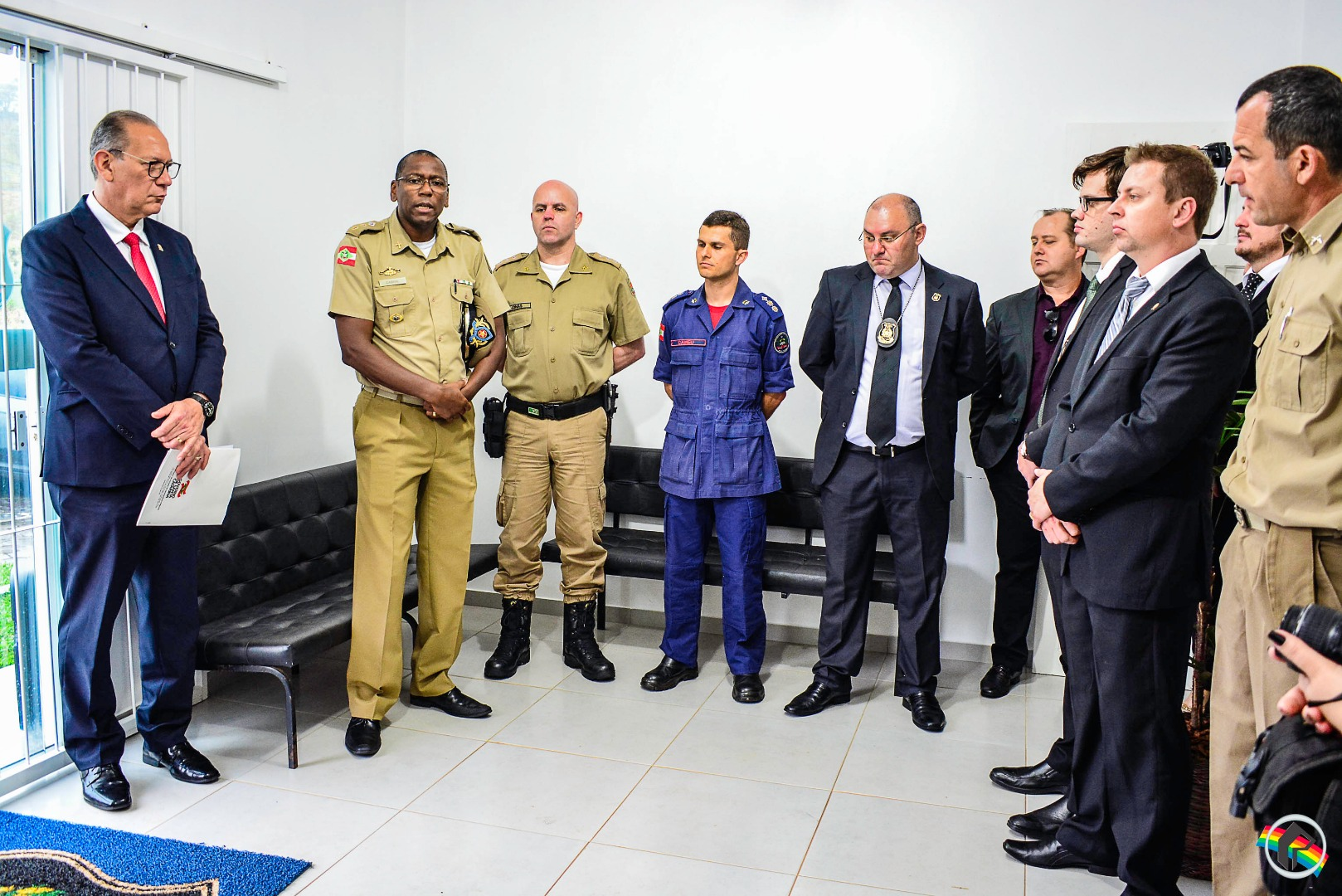 Secretário de Segurança inaugura Central de Vídeo Monitoramento