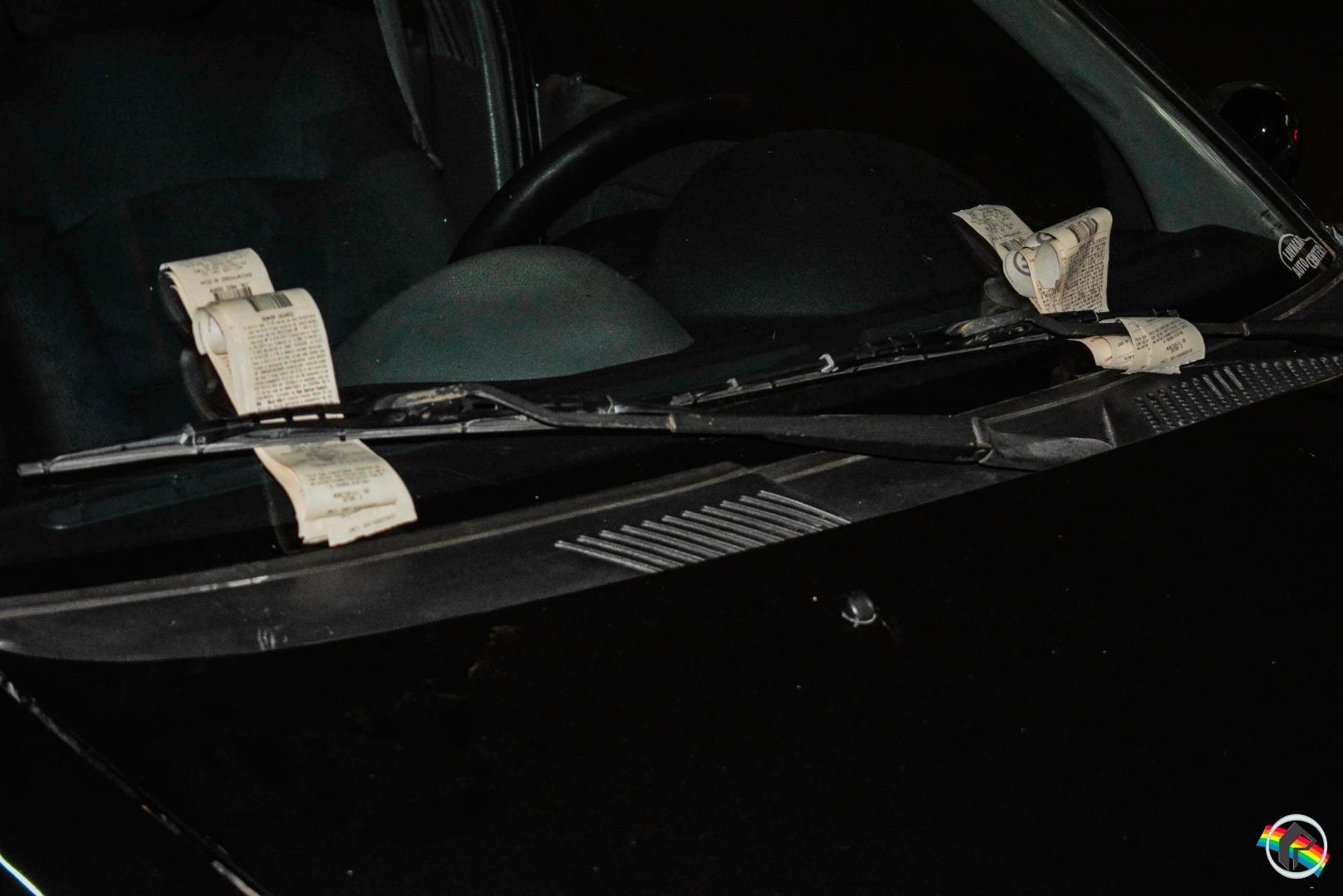 Veículo é notificado 13 vezes na Zona Azul do Estacionamento Rotativo