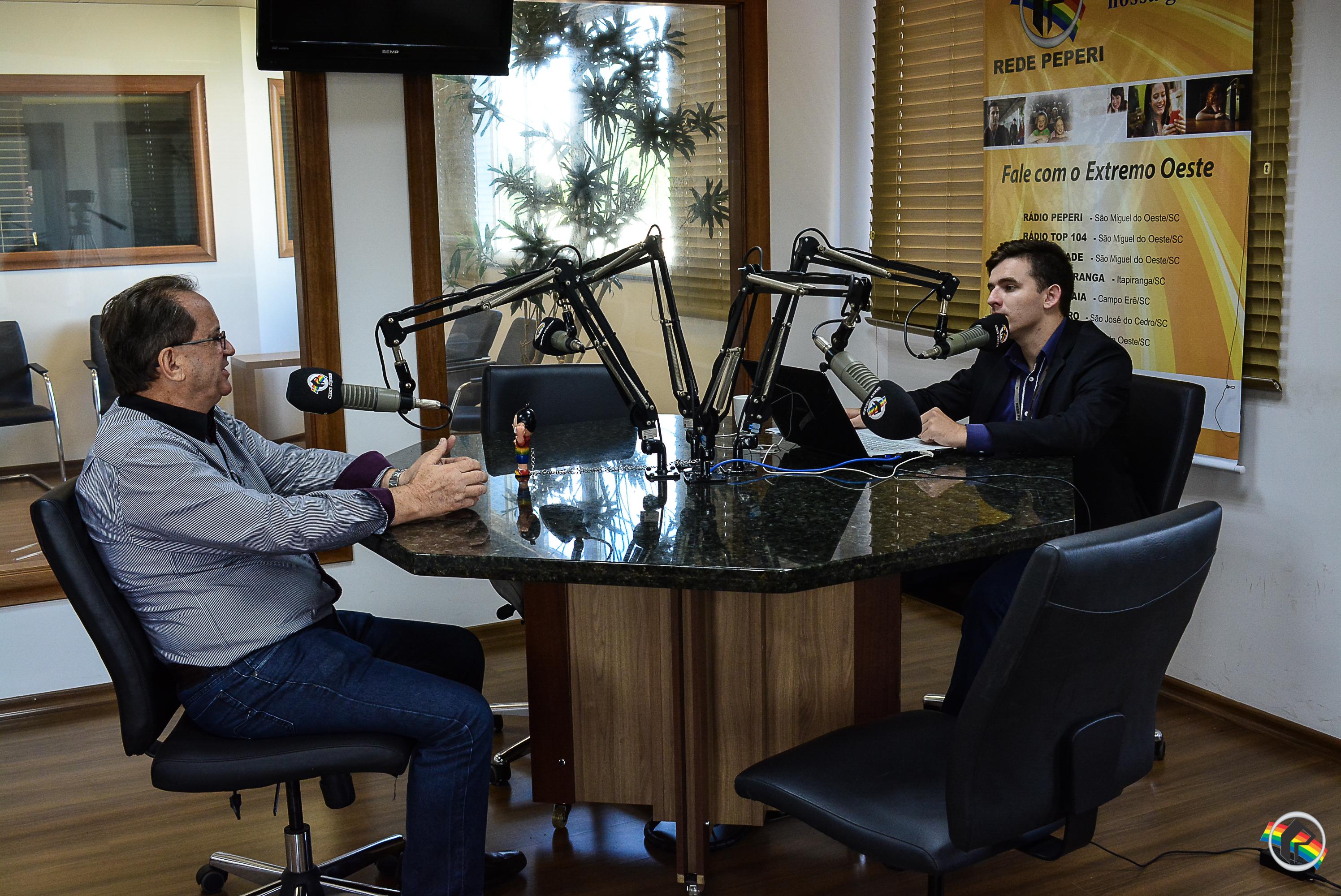 Peperi recebe o empresário Irineu Massarollo
