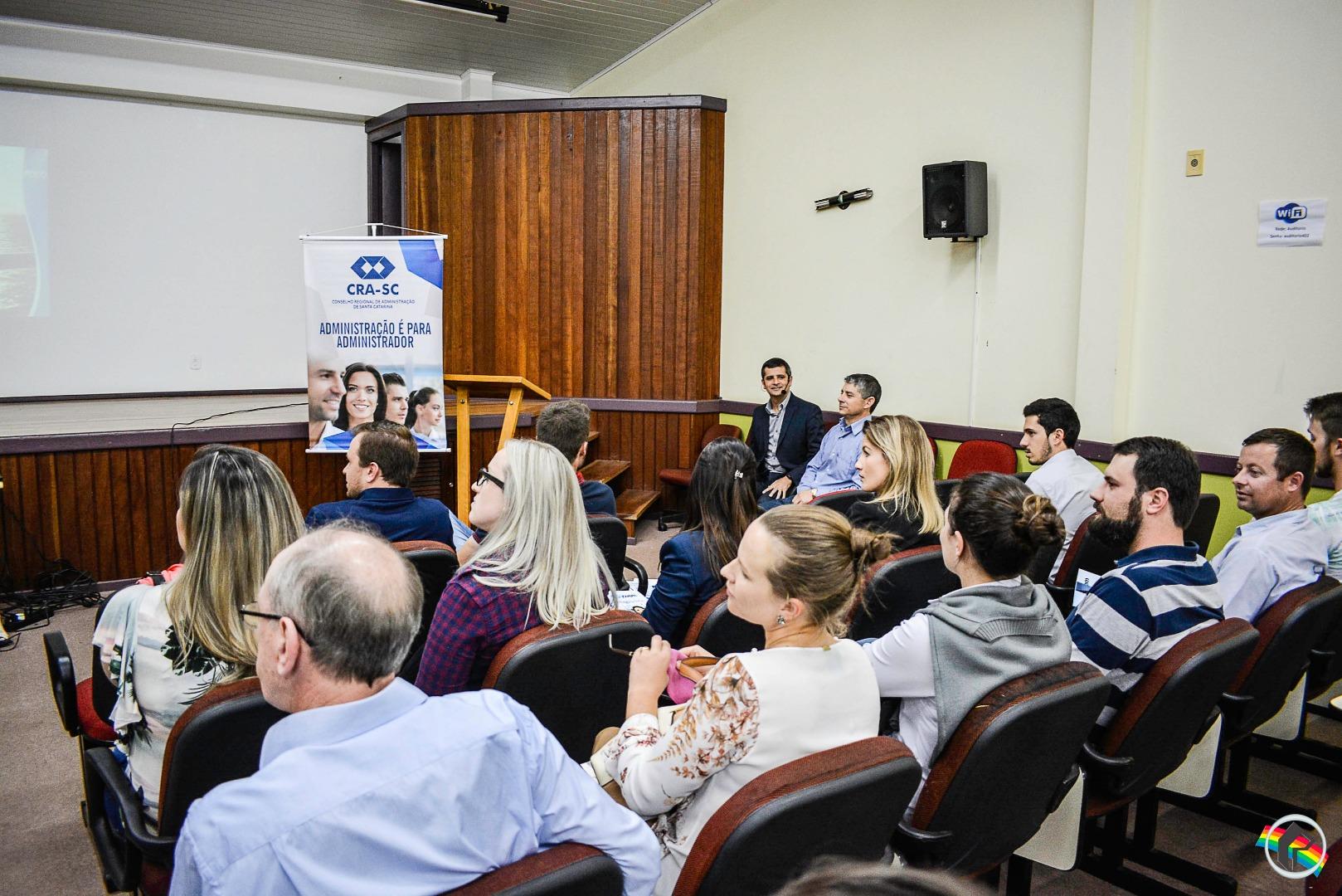 Conselho Regional de Administração realiza edição do Ideia.ADM