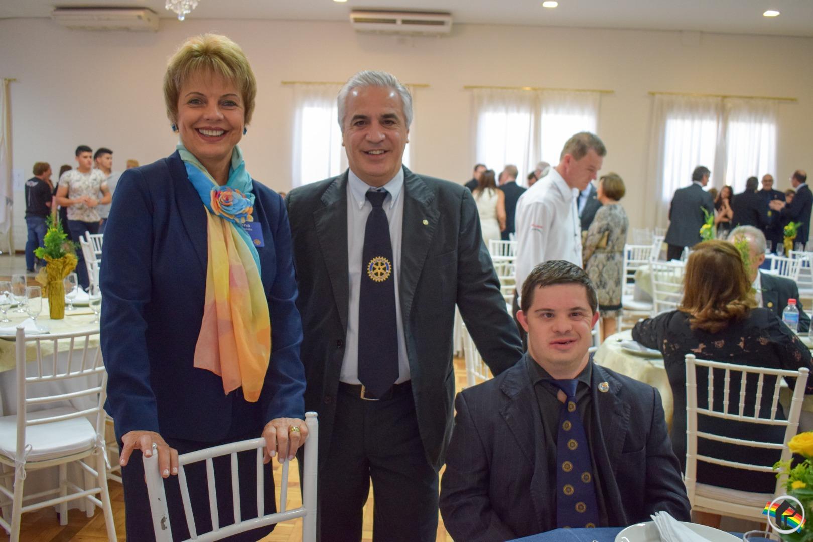 Rotary e Casa da Amizade de SMOeste comemoram 50 anos
