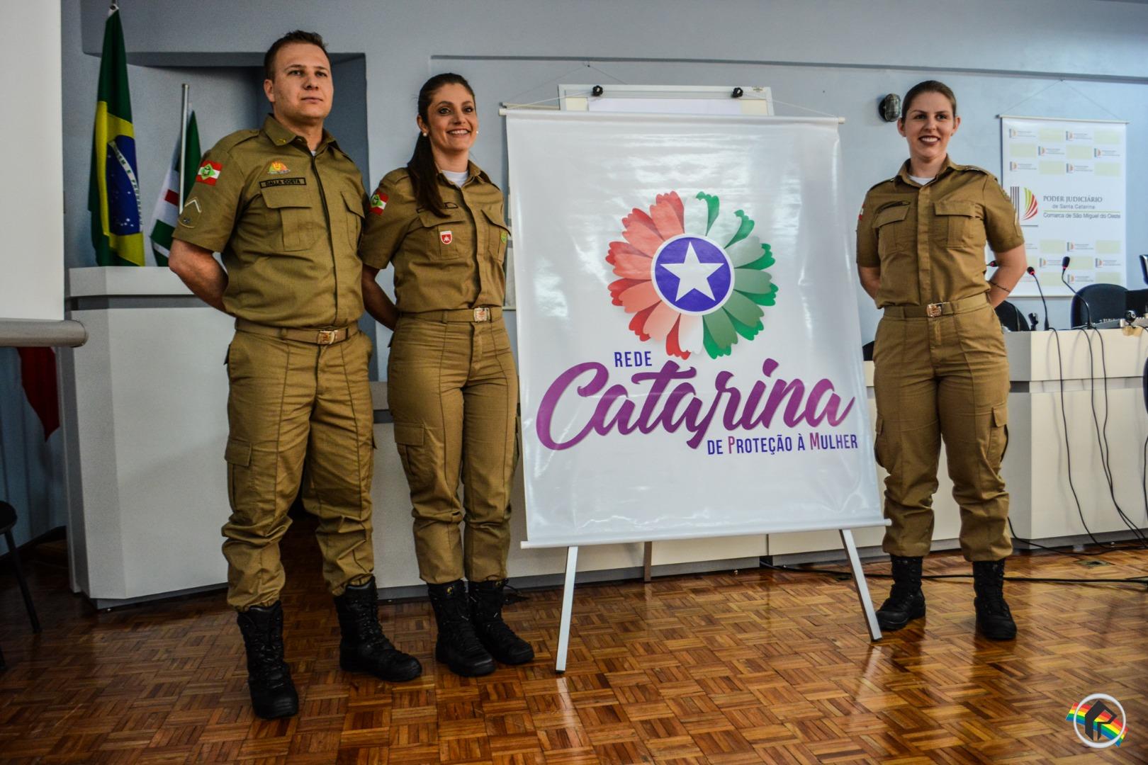 PM lança Rede Catarina de Proteção a Mulher no município