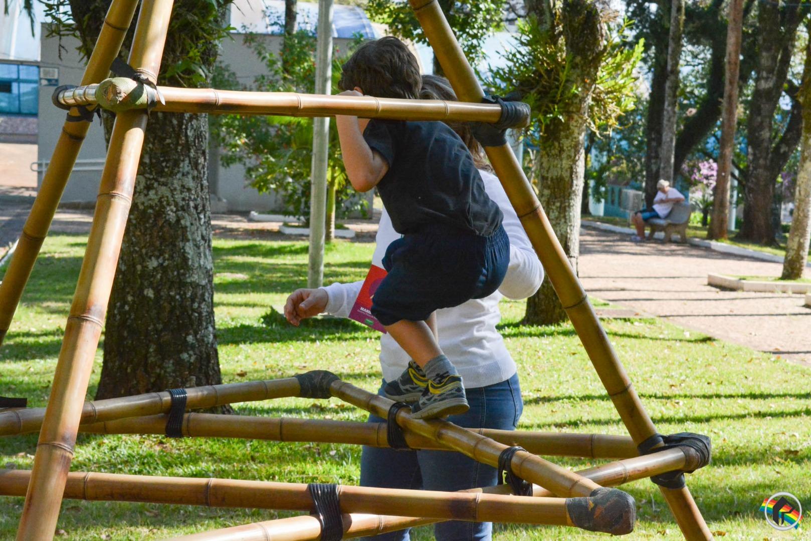 Sesc e Unimed São Miguel do Oeste realizam edição do Quintal Brincar