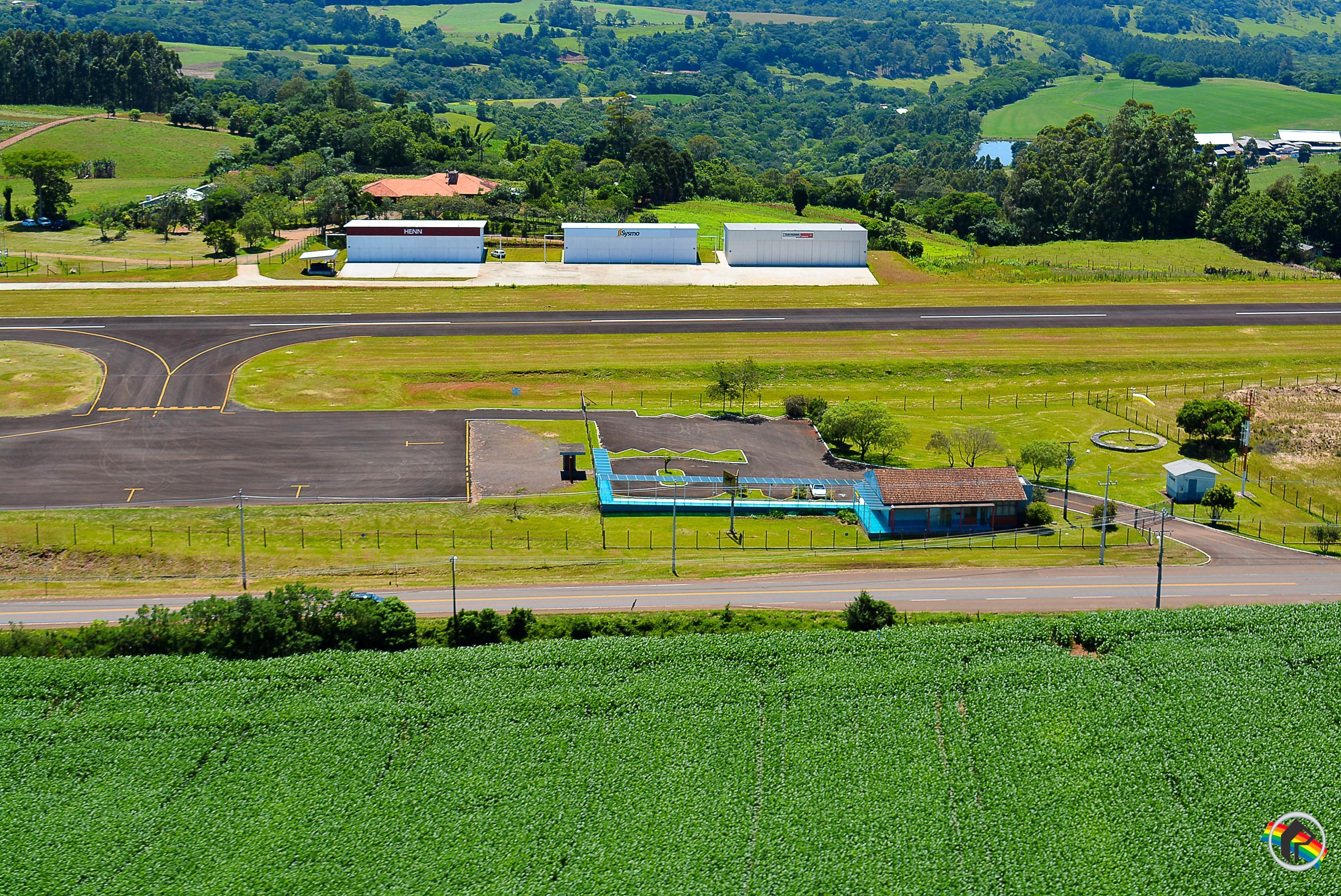 Aeroporto de São Miguel do Oeste pode ser repassado para o Consórcio dos Municípios
