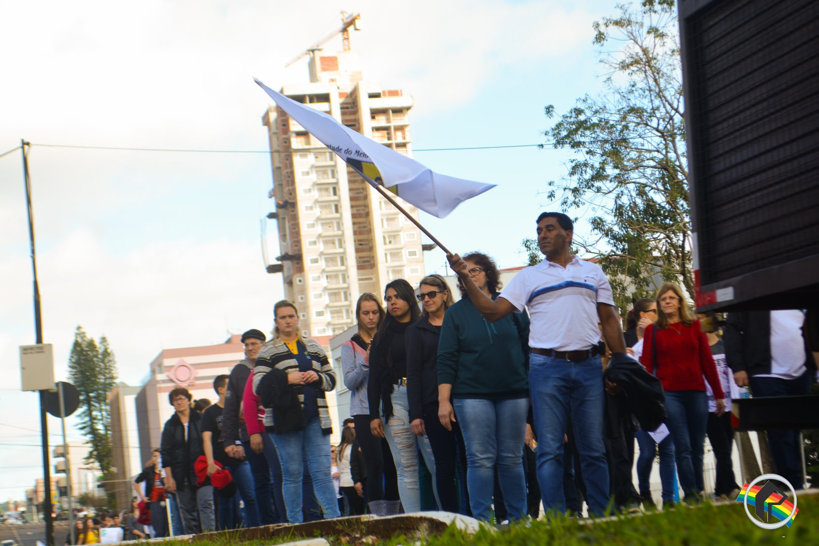 Mais de mil pessoas participam de manifesto em São Miguel do Oeste