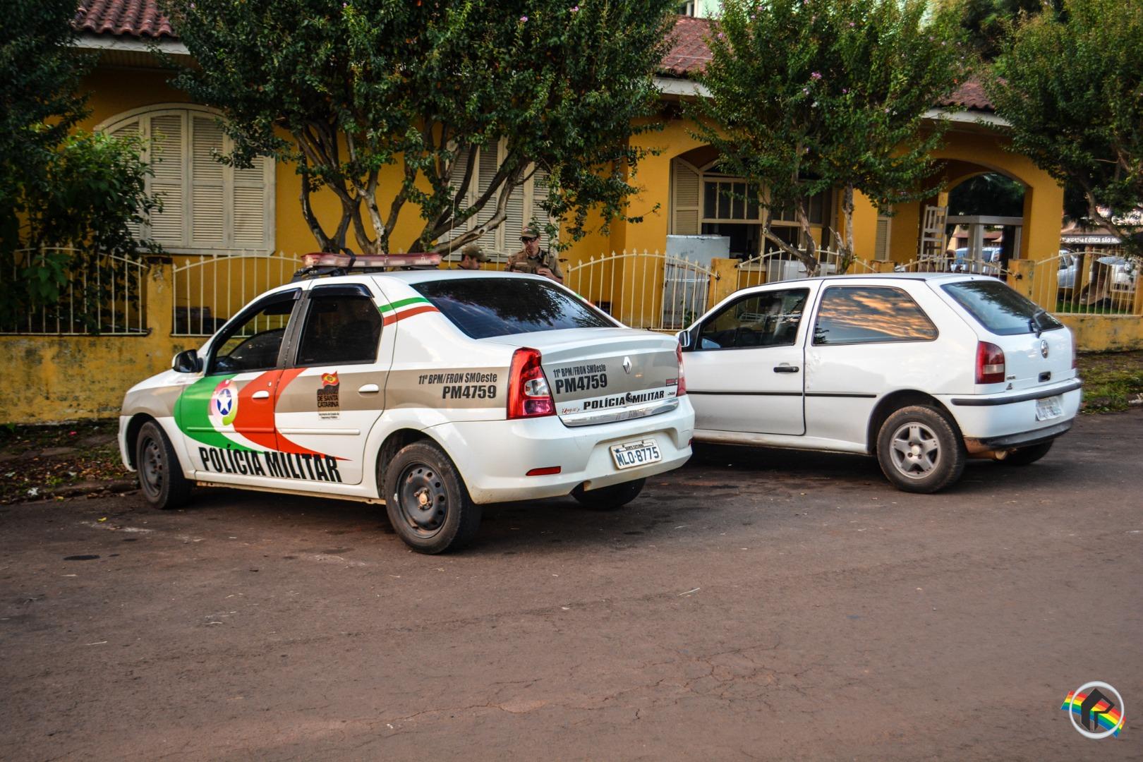 Atropelamento deixa idosa ferida no centro de São Miguel do Oeste