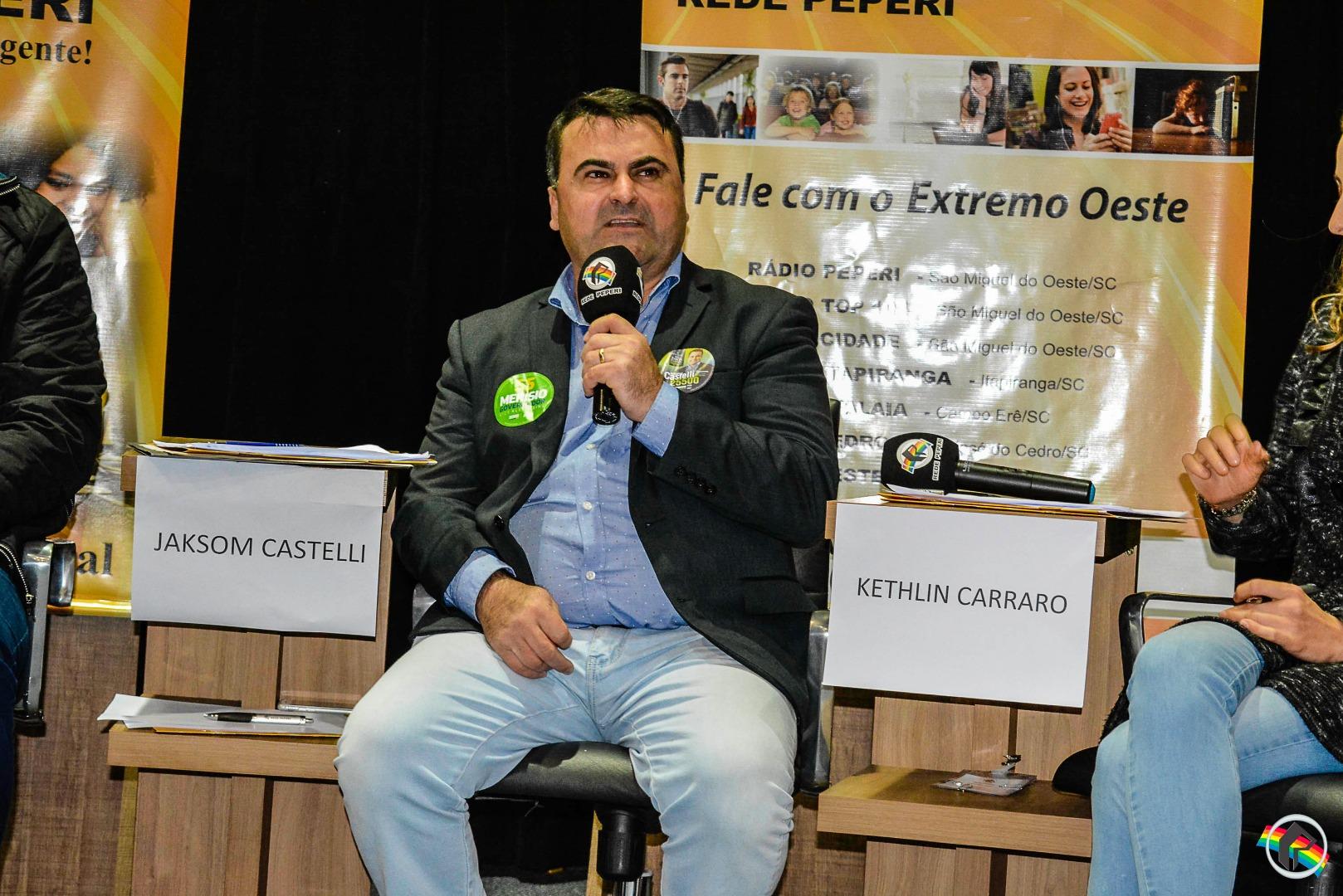 AO VIVO: Acompanhe o primeiro debate na Peperi