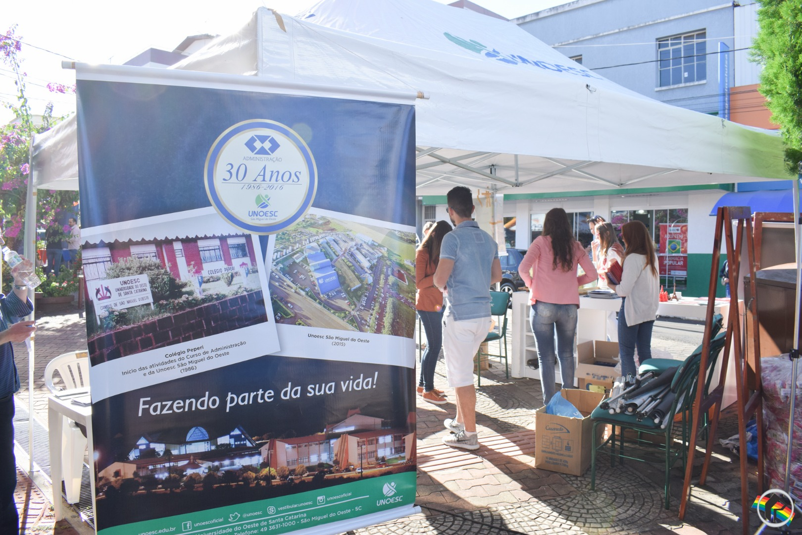 Dia da Unoesc na Comunidade é realizado em SMOeste