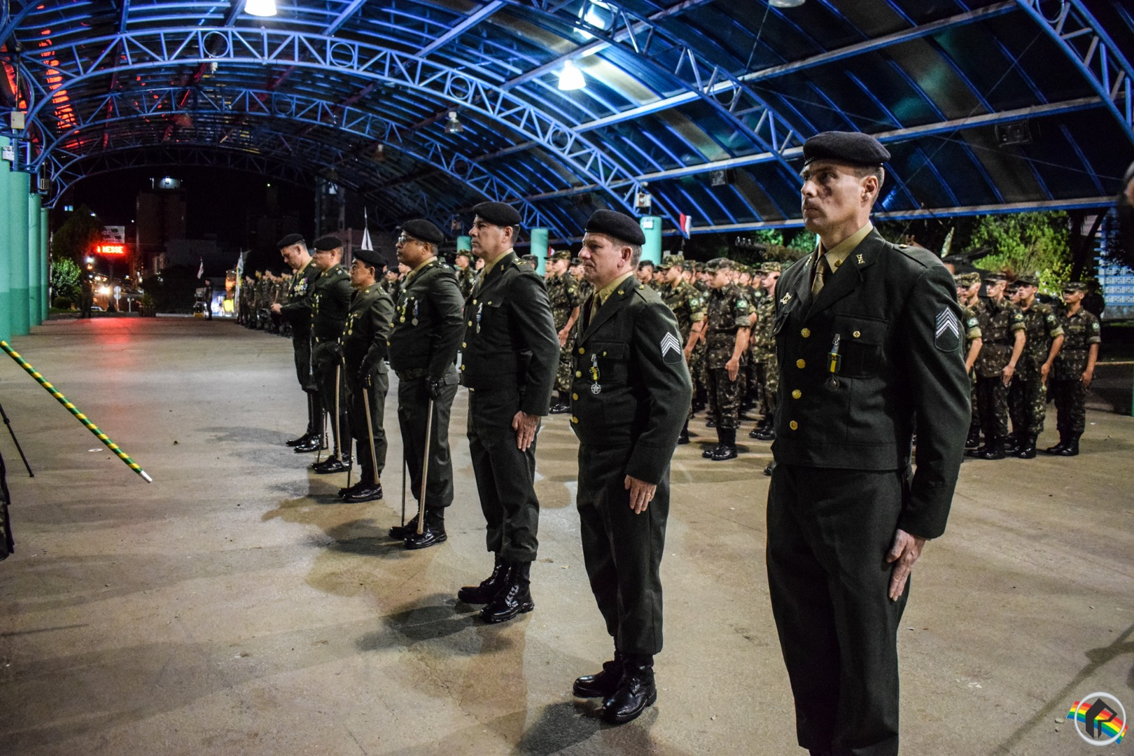Exército promove formatura alusiva aos 371 anos de existência