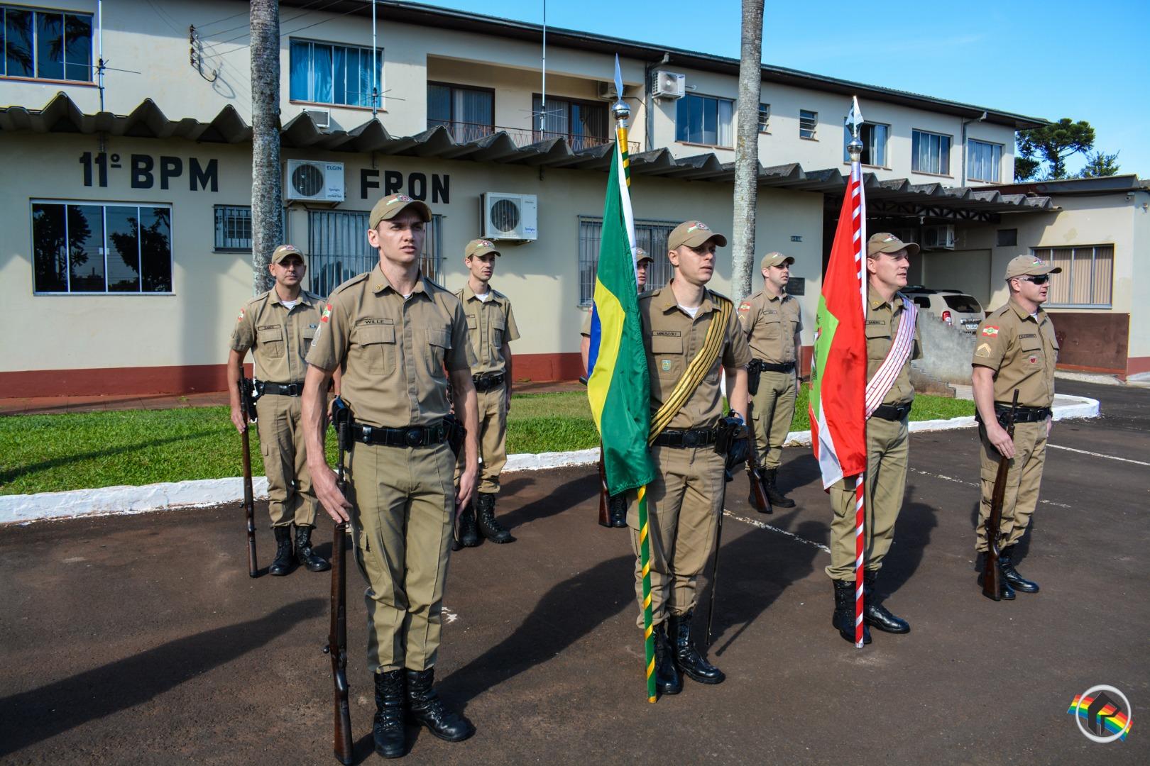 PM realiza solenidade de Formatura do Curso de Formação de Cabos