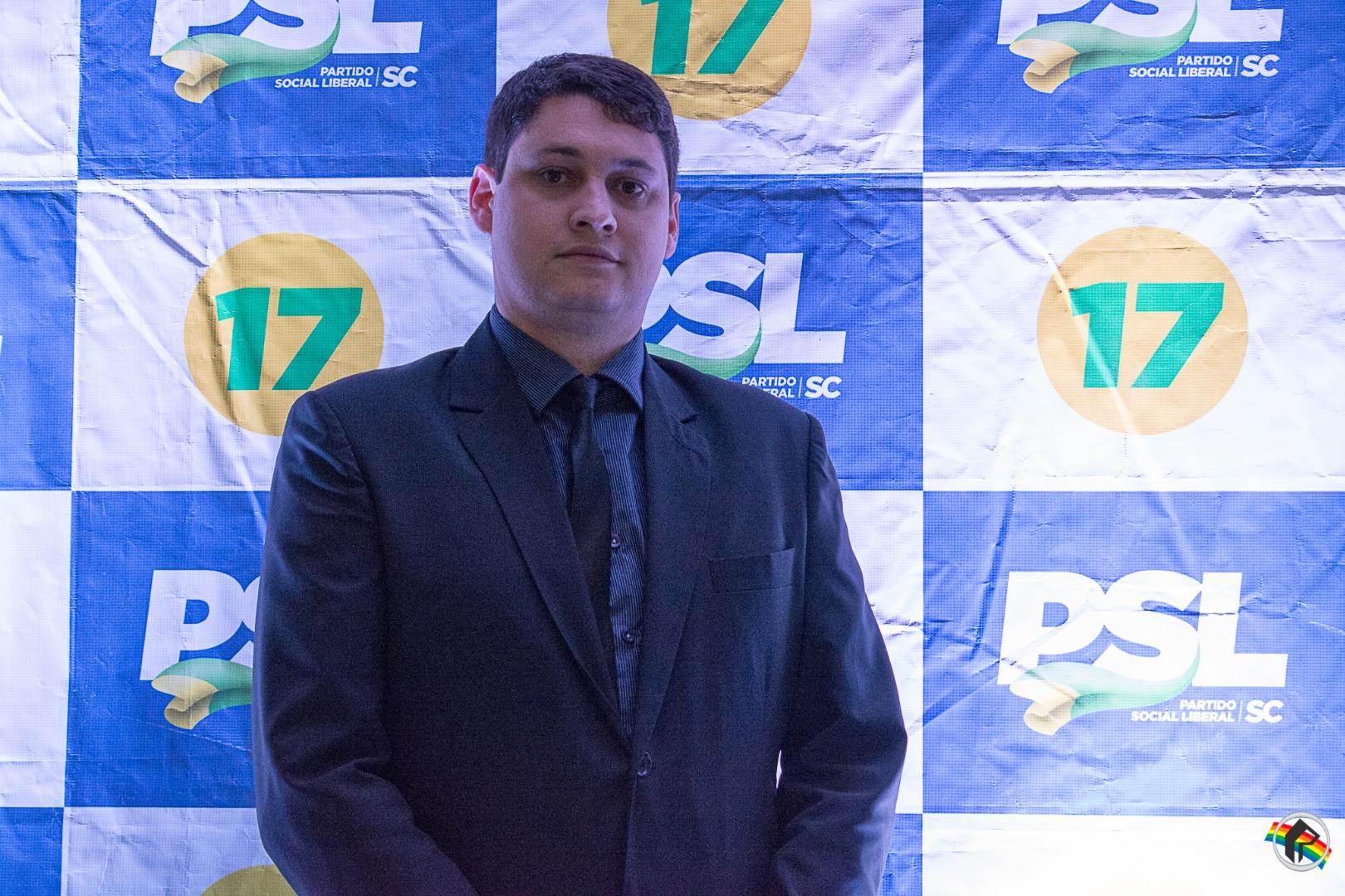 Executiva municipal do PSL é empossada em São Miguel do Oeste