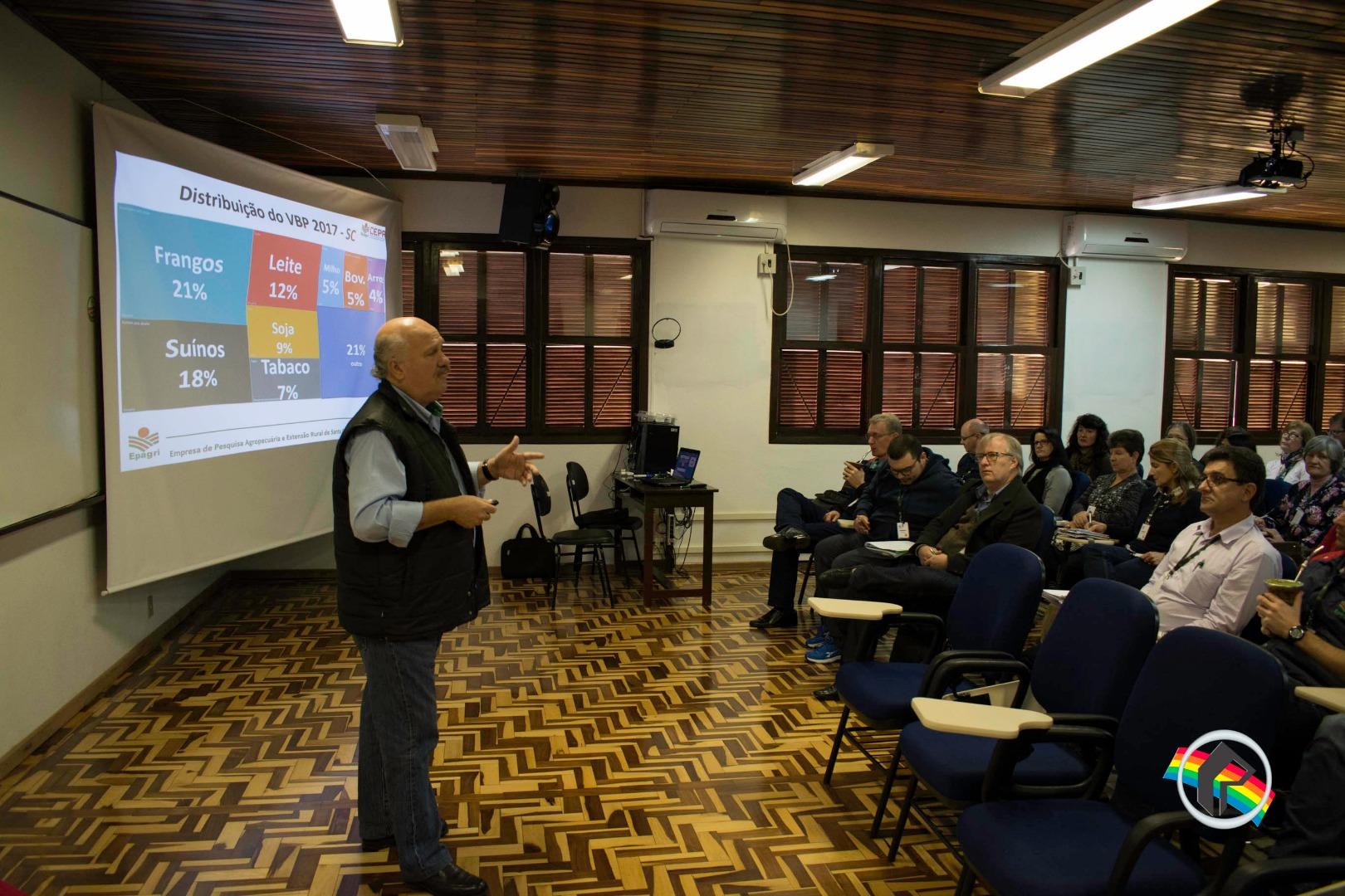 Presidente da Epagri participa de palestra em São Miguel do Oeste