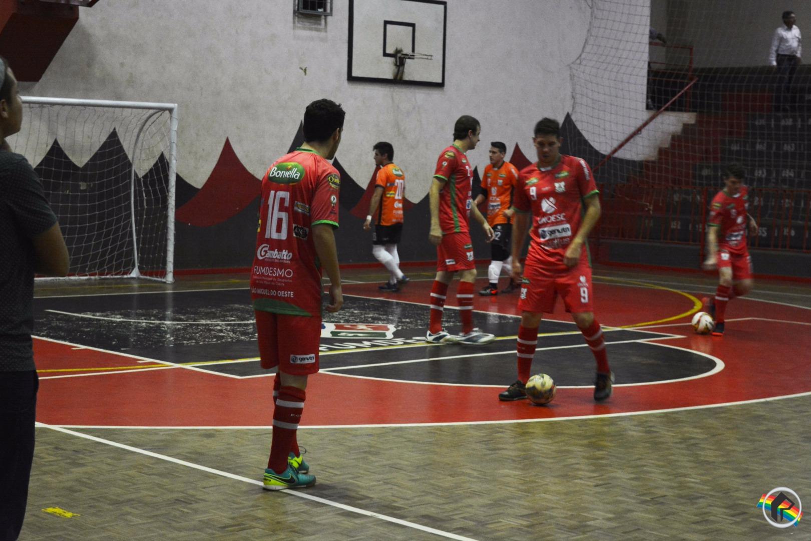 Asme goleia o Caçador pela Liga Catarinense de Futsal
